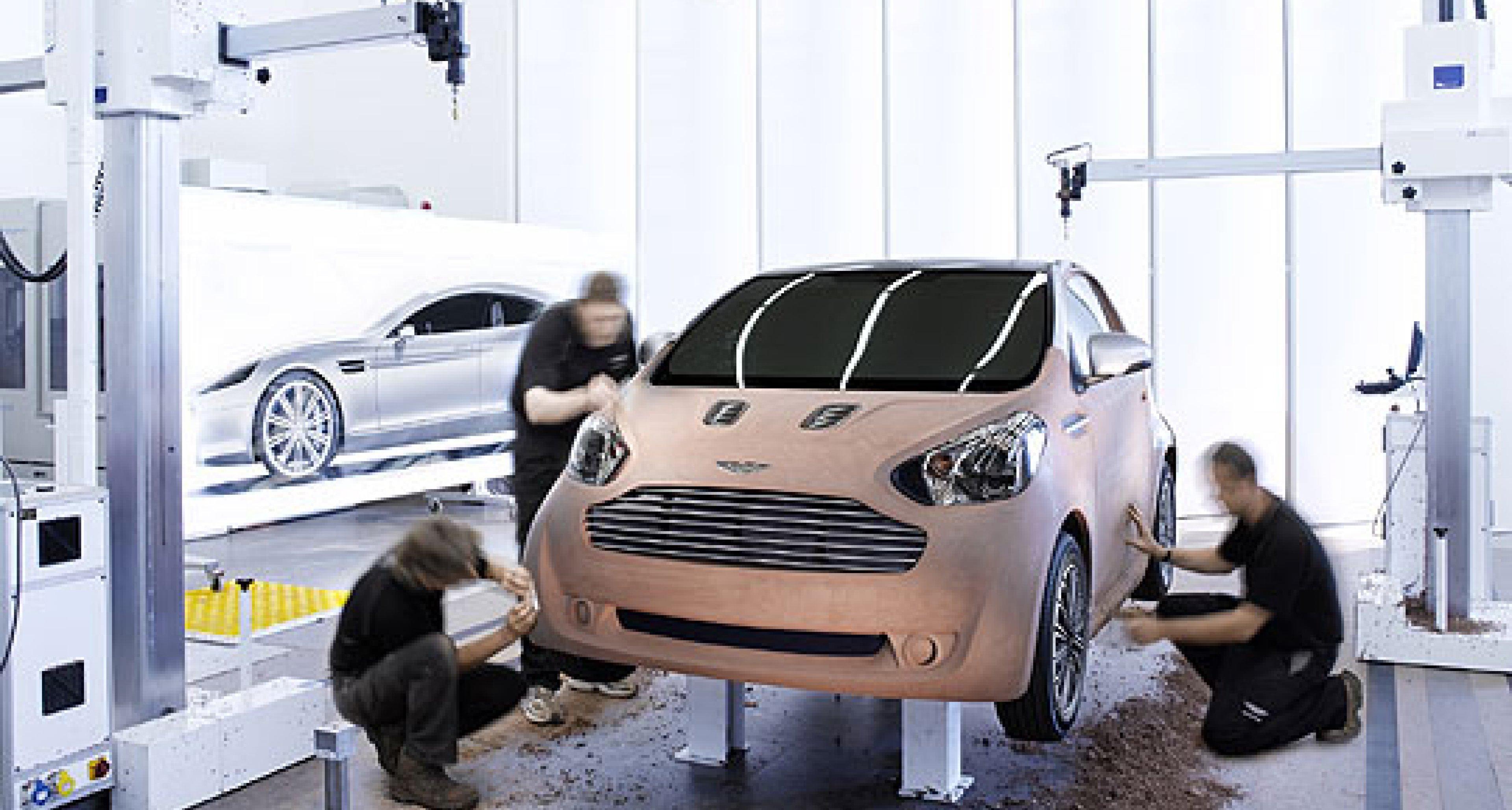 Aston Martin Cygnet – Luxury Commuter Car Concept
