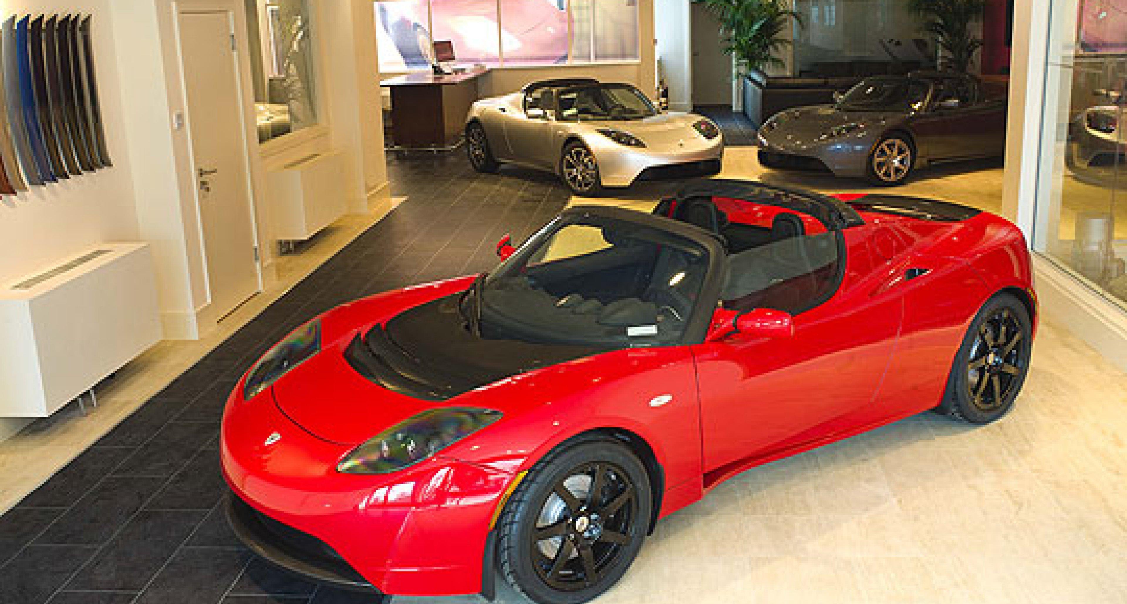 Tesla Opens London Showroom