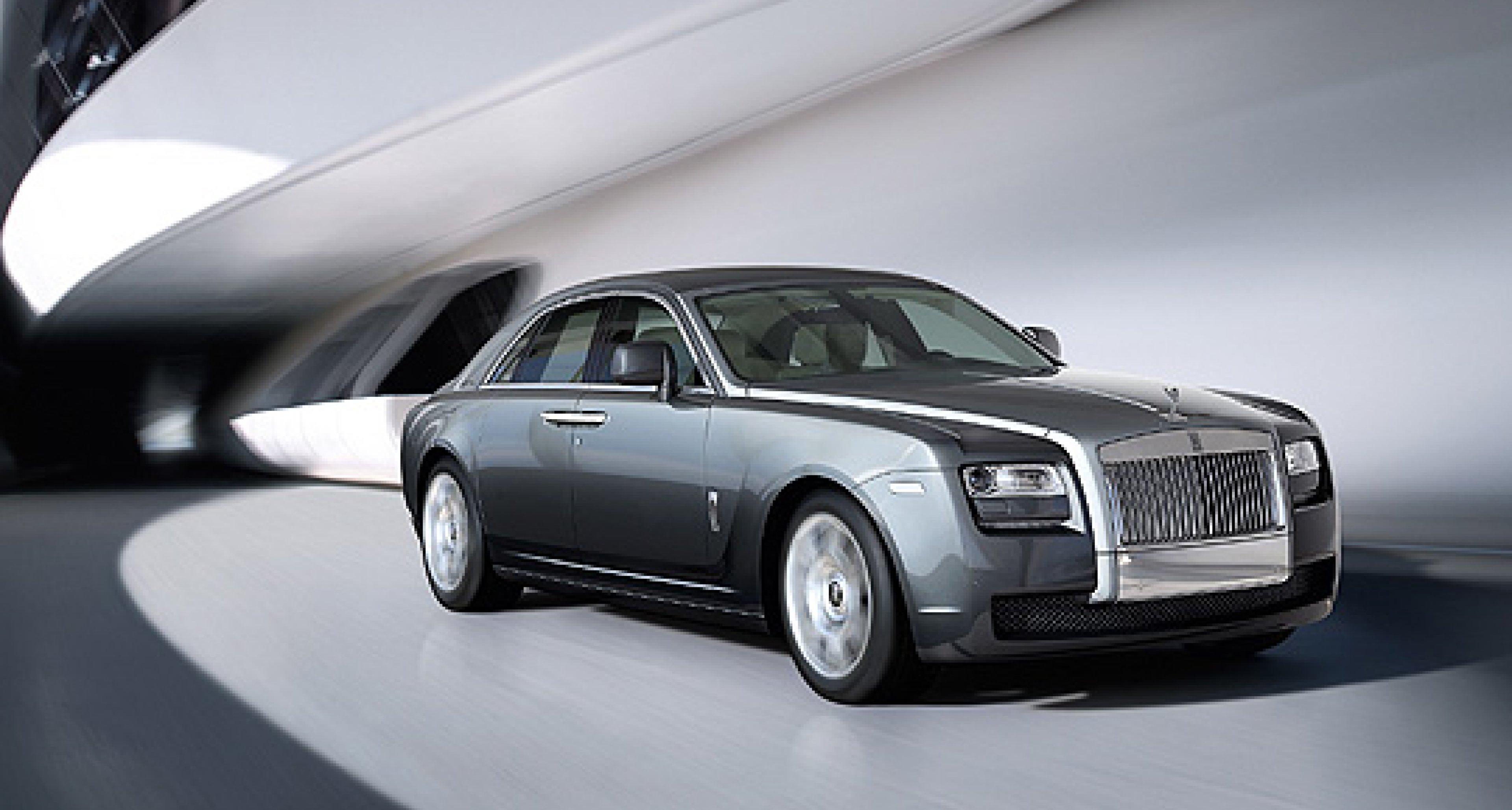 Rolls-Royce Ghost for International Debut at Frankfurt