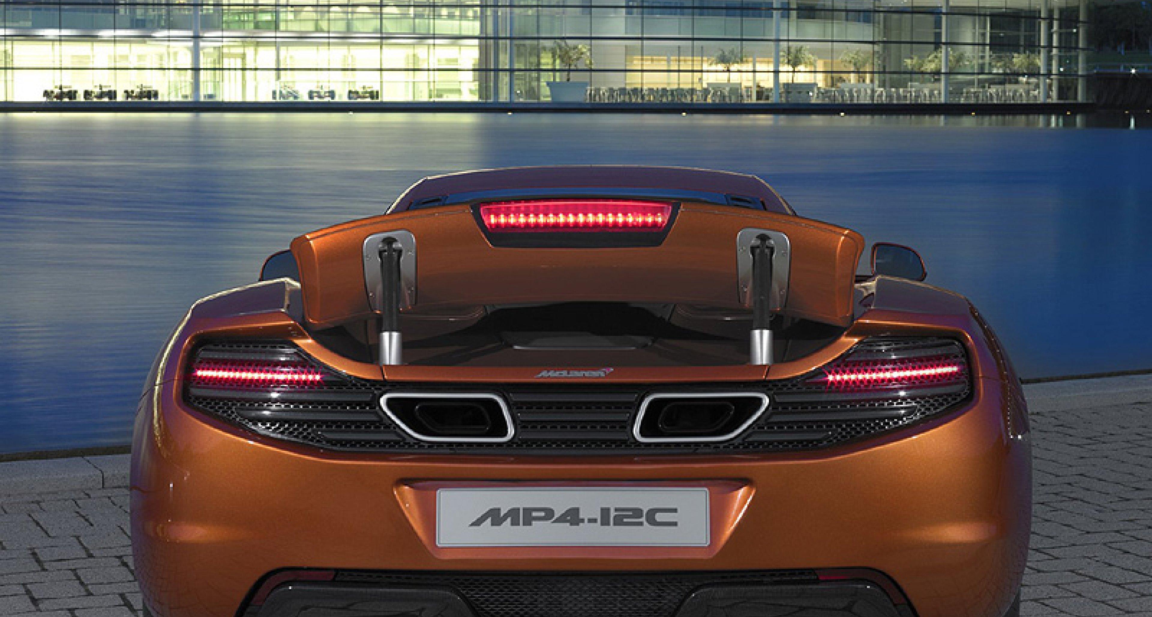The McLaren MP4-12C