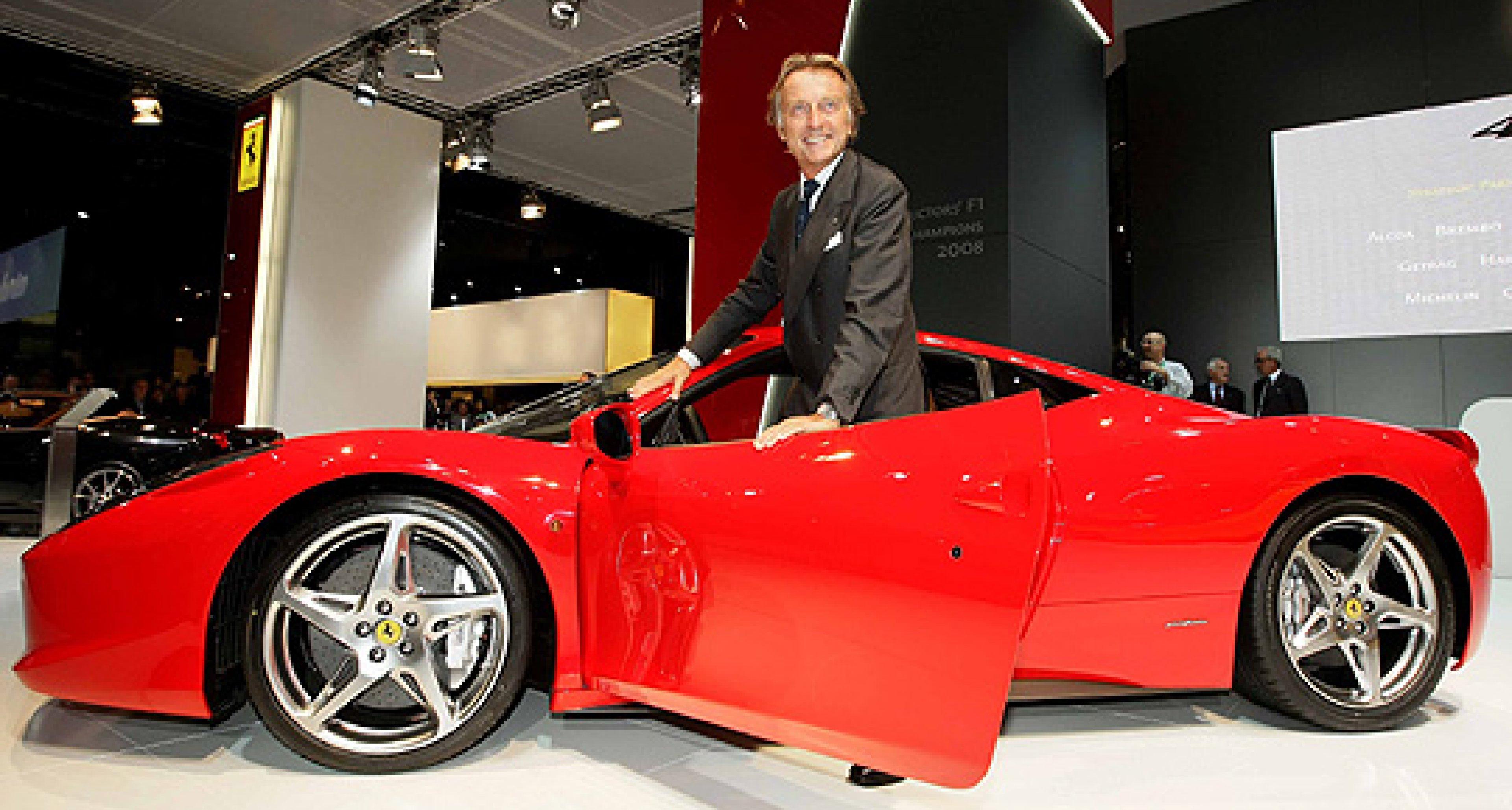 Ferrari 458 Italia - As Presented by Luca di Montezemolo and Michael Schumacher