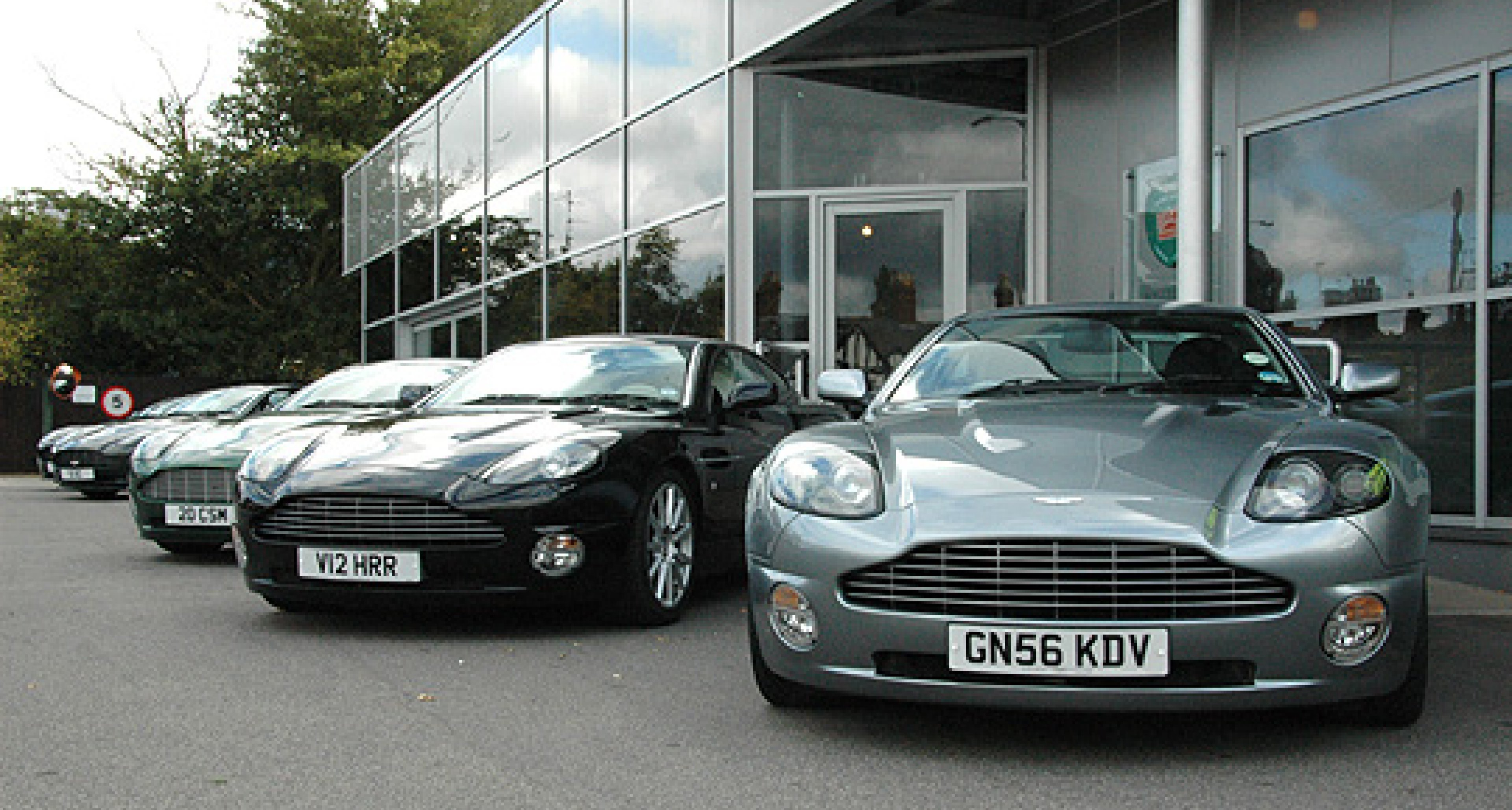 Aston Martin 'Vanquish Celebration Day' 2009 at Works Service