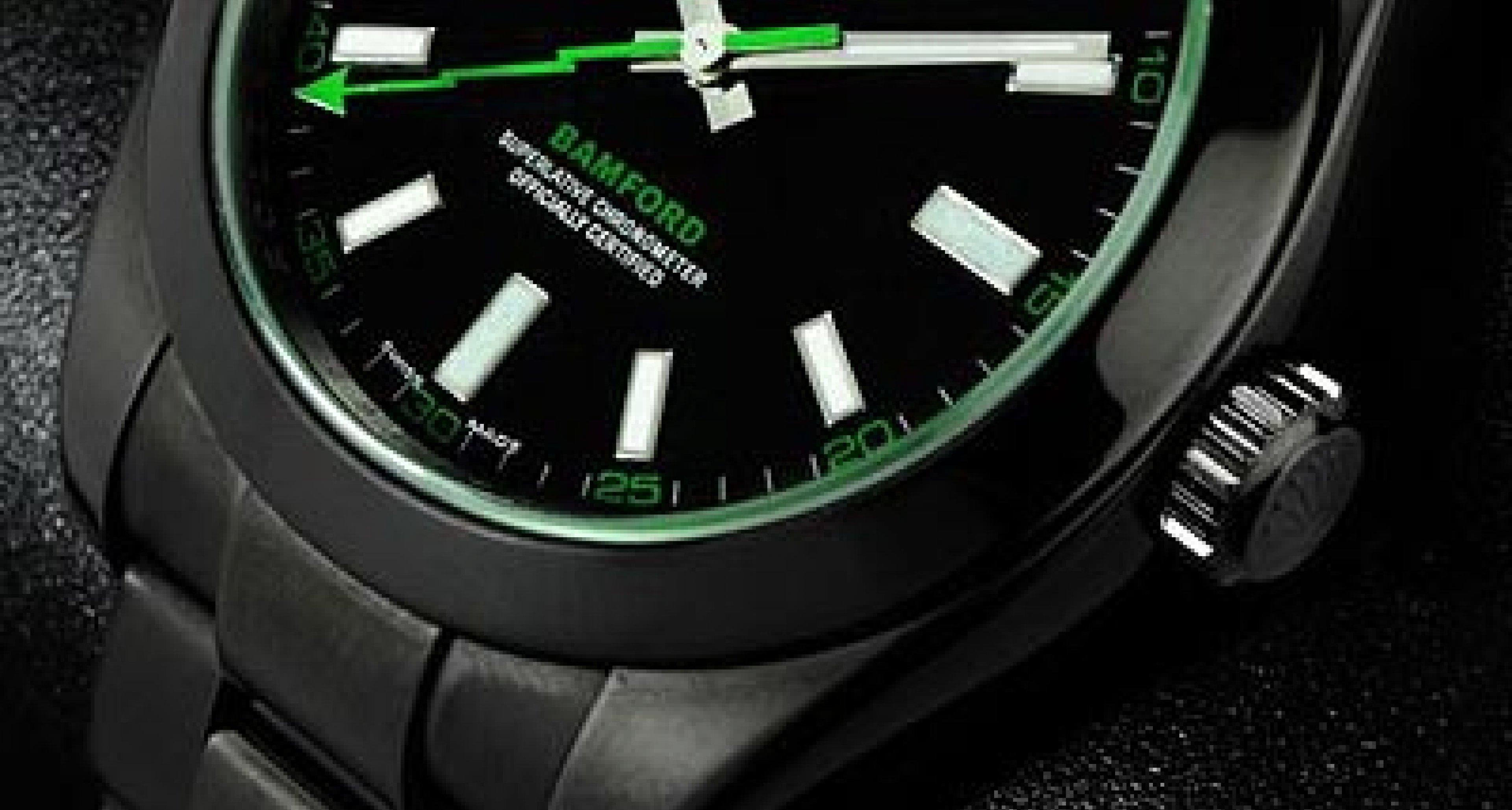 So Long As It's Black: Bamford Watch Department