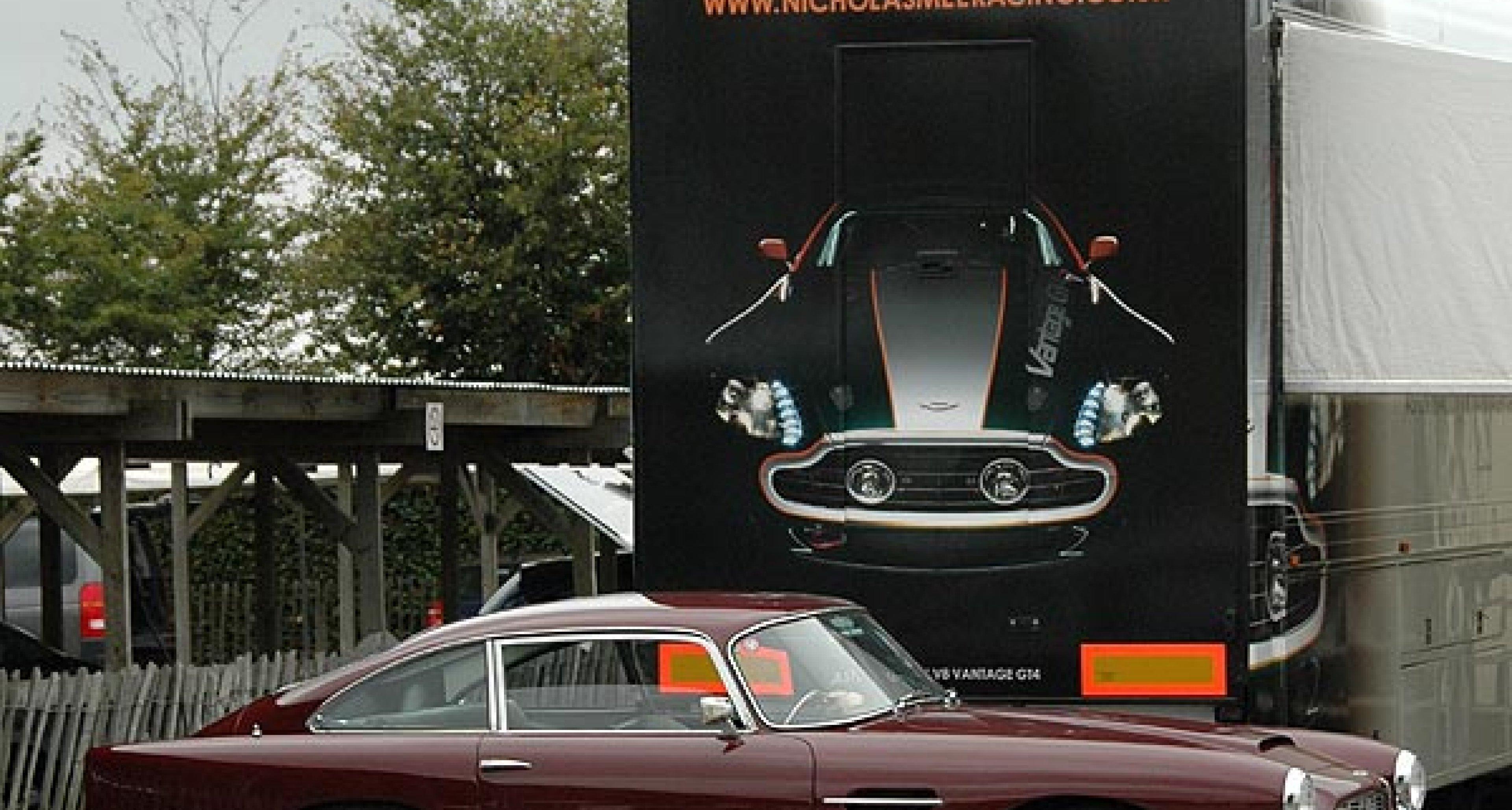 Track Test: Aston Martin V8 Vantage GT4