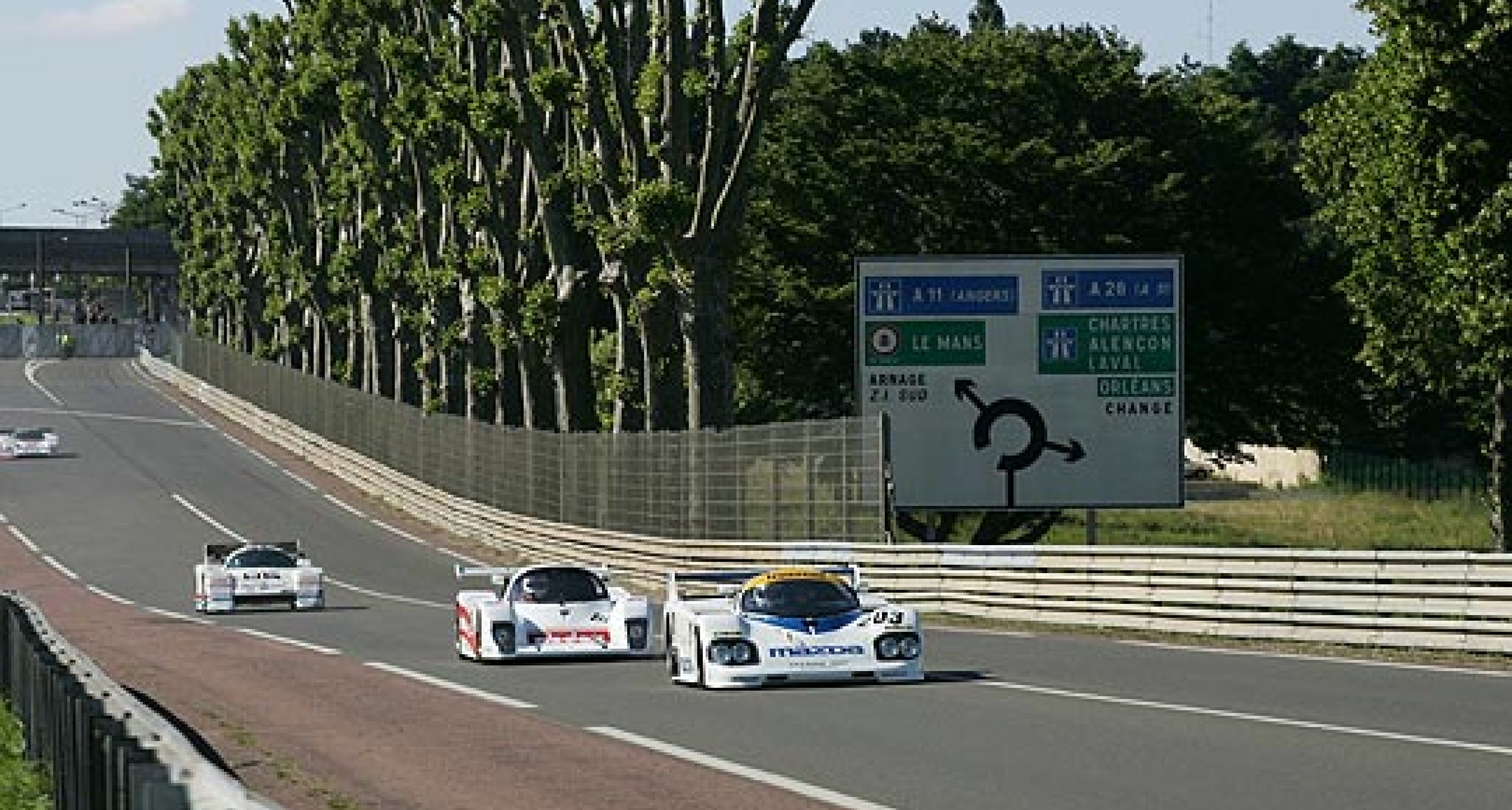 Group C Support Race at Le Mans 2010