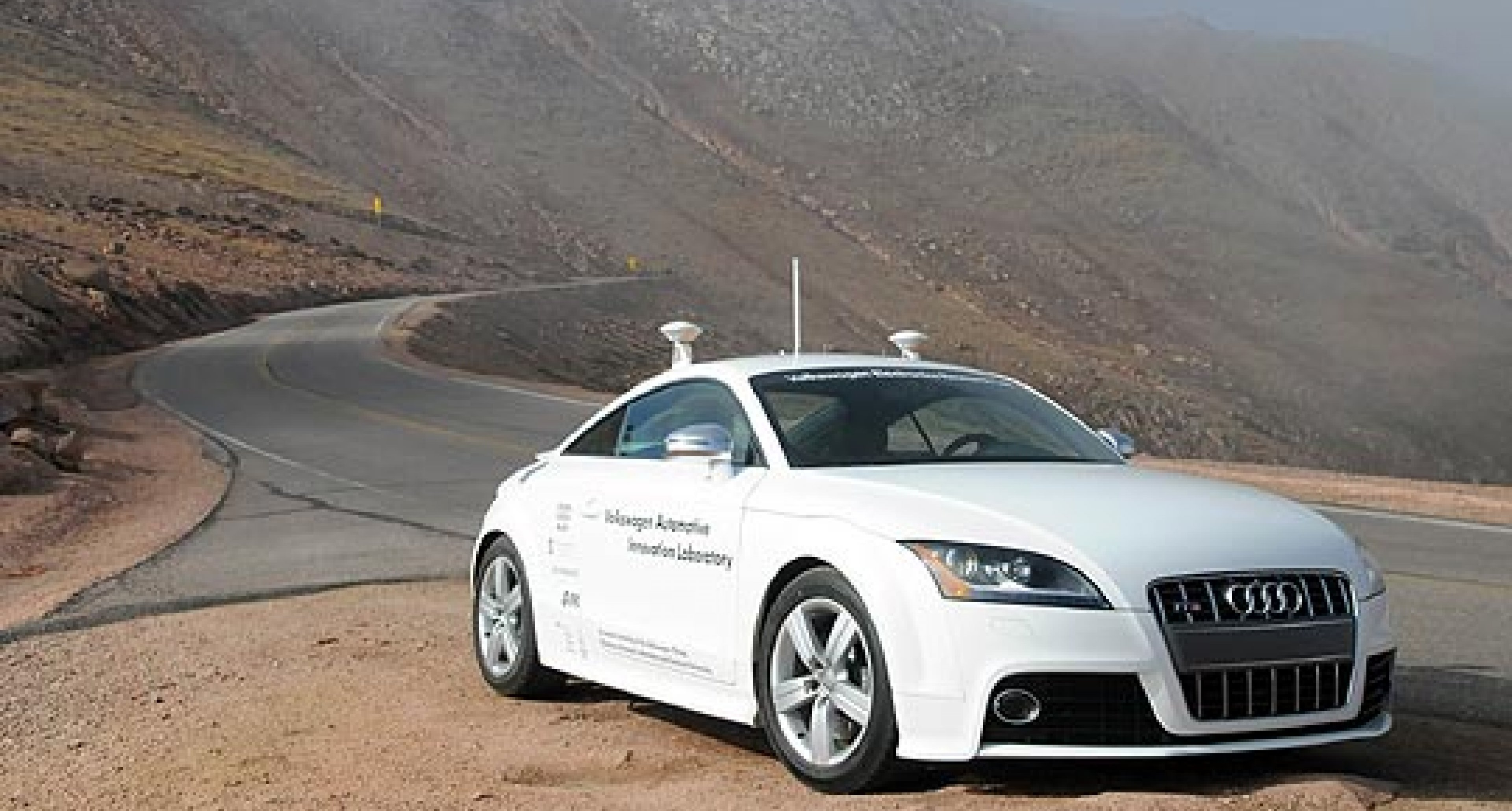 Audi Builds 'Driverless' Sports Car