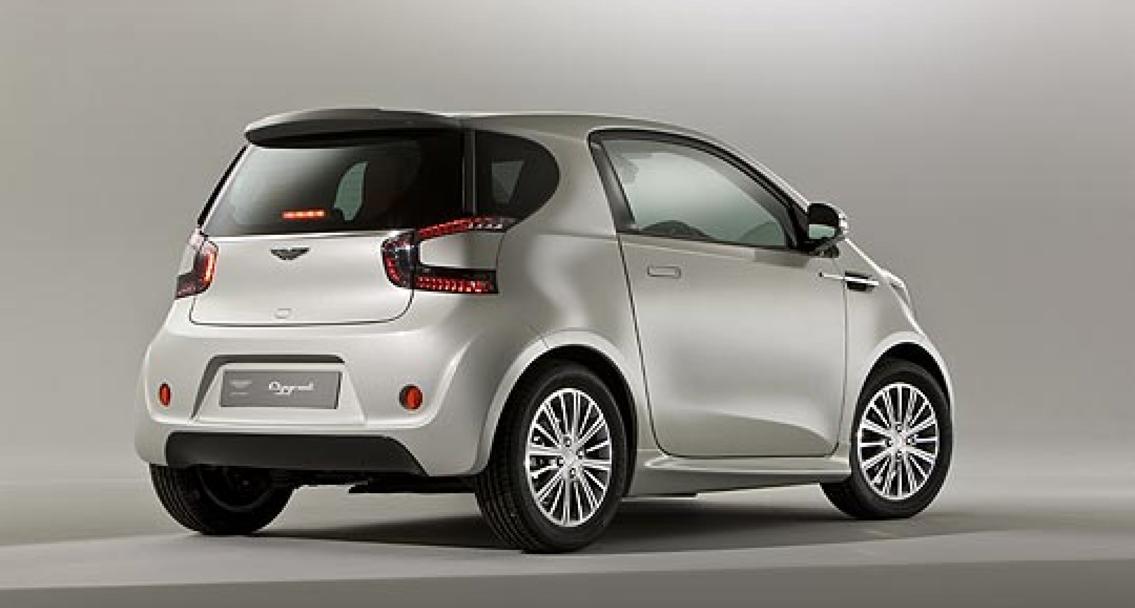 Aston Martin Cygnet: Now in the Metal