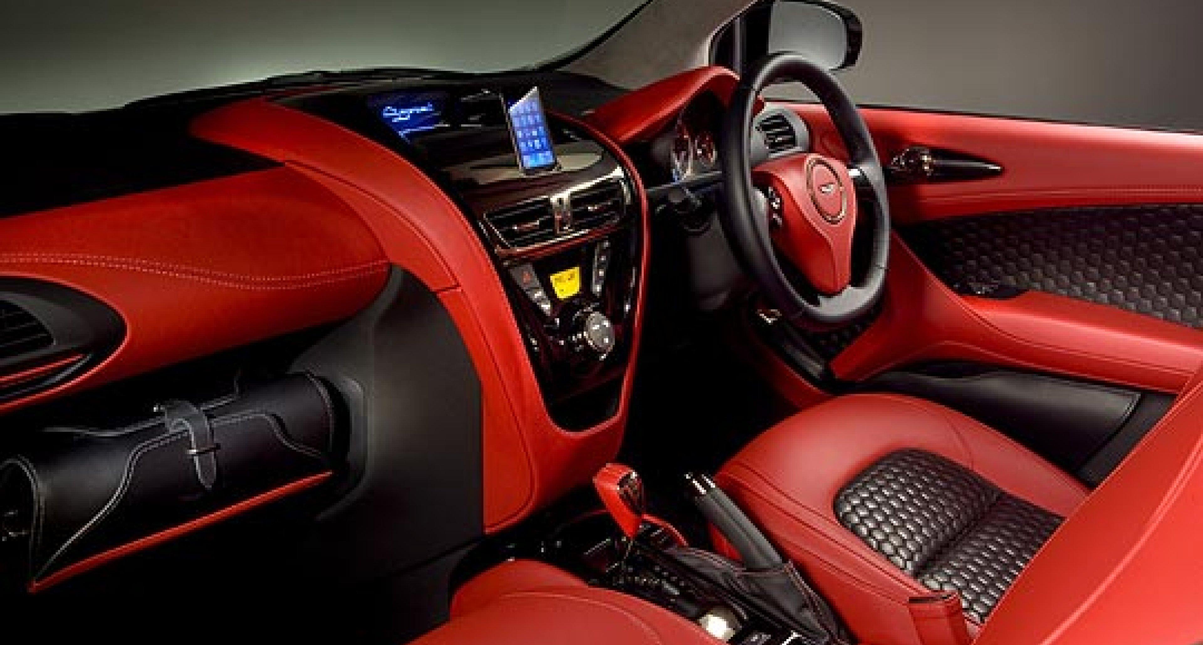 Aston Martin Cygnet: Now in the Metal