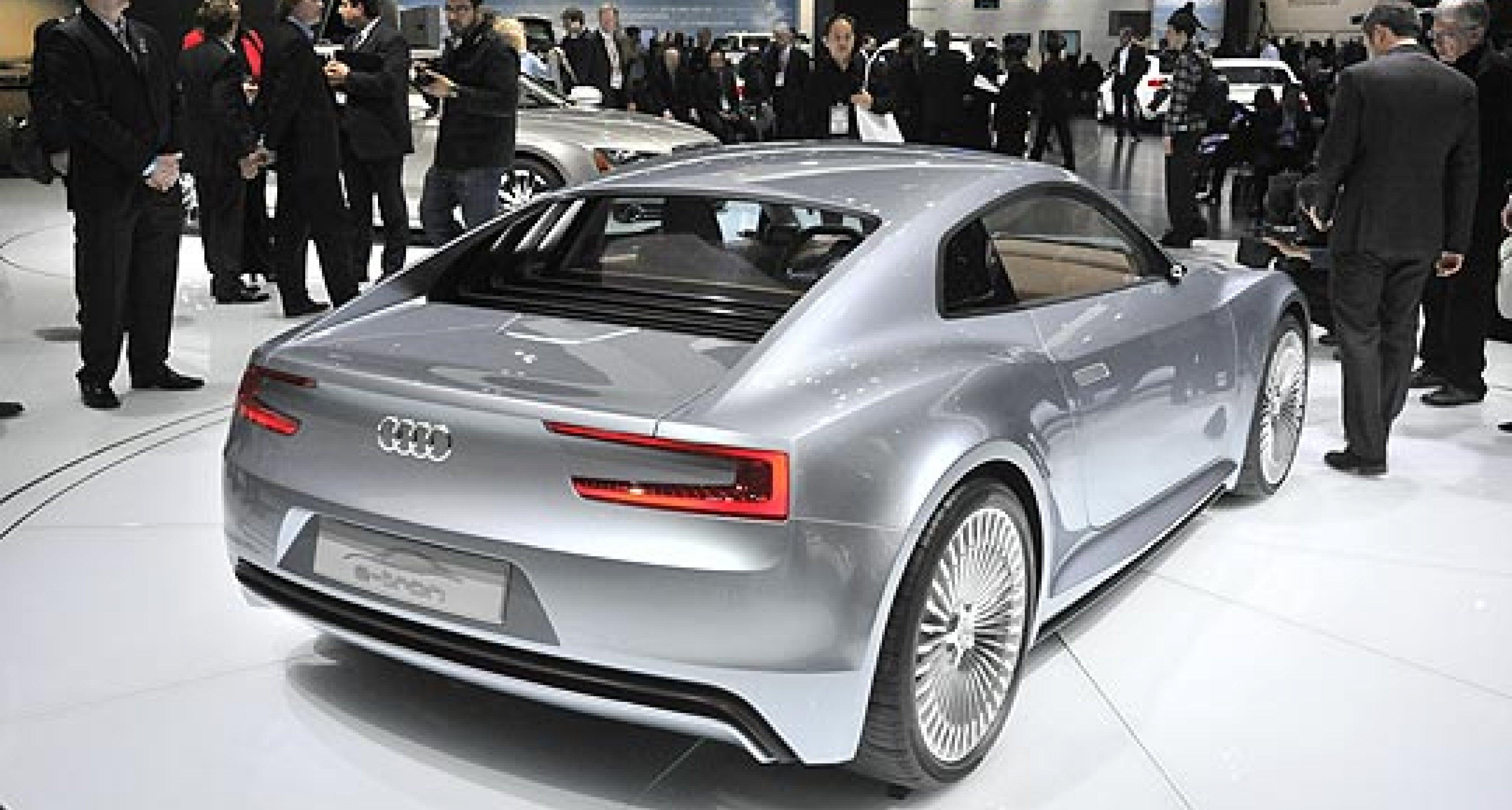 Audi e-tron: New Concept Car Revealed in Detroit