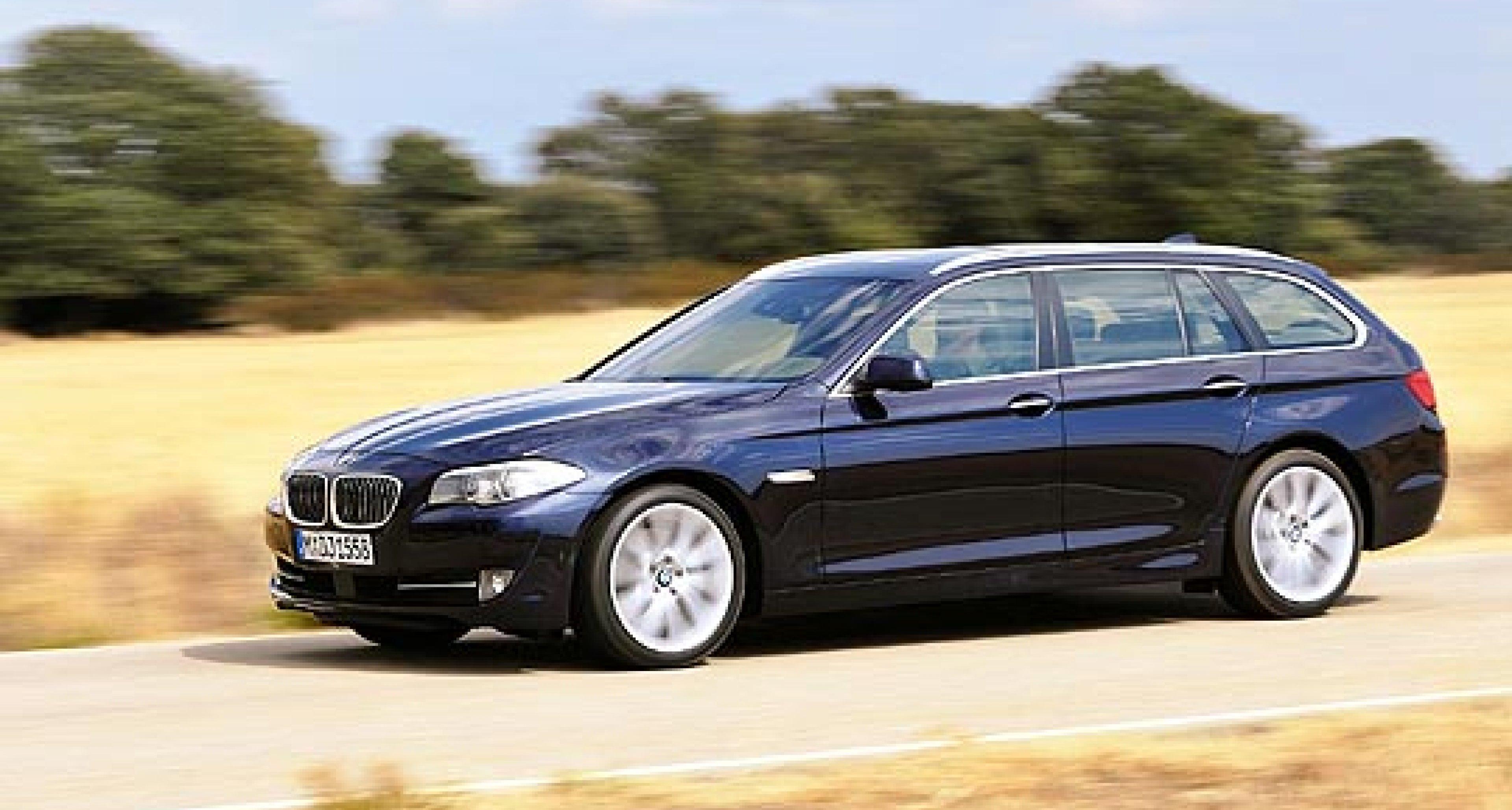 BMW 5 Series Touring: New Estate Joins the Range
