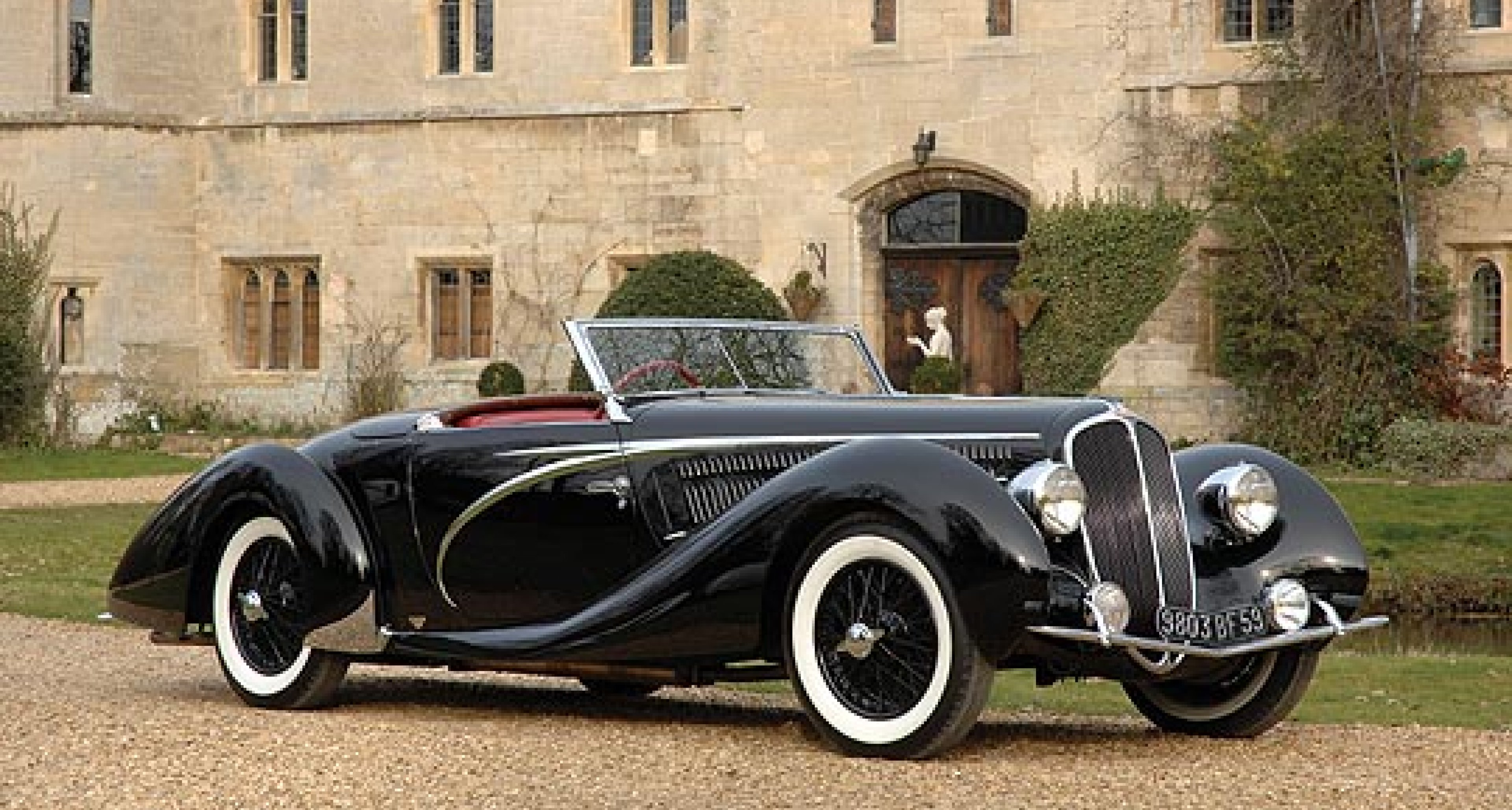 Driven: 1938 Delahaye 135 MS Competition Cabriolet by Figoni & Falaschi