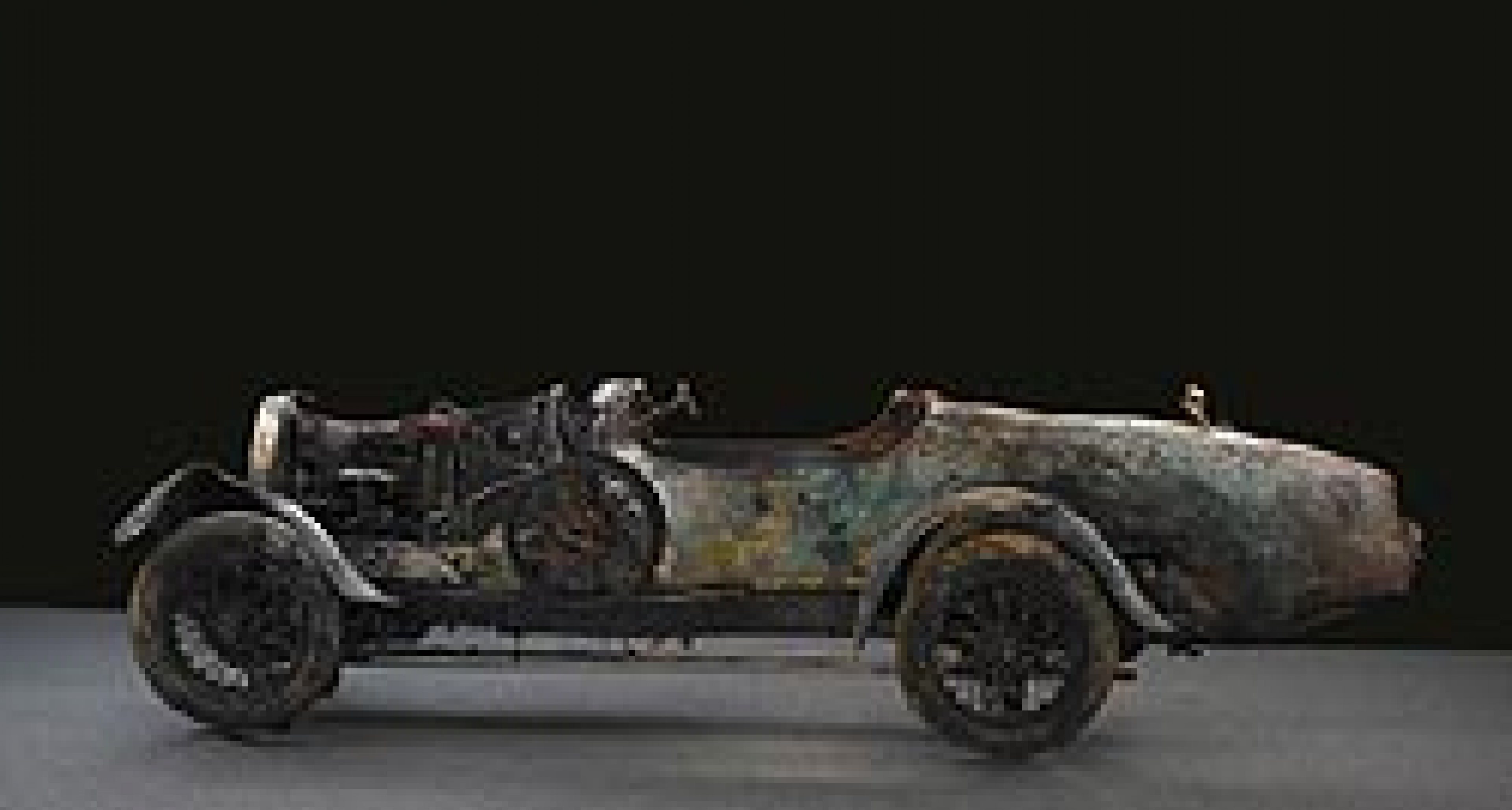 'Lake' Bugatti on Display