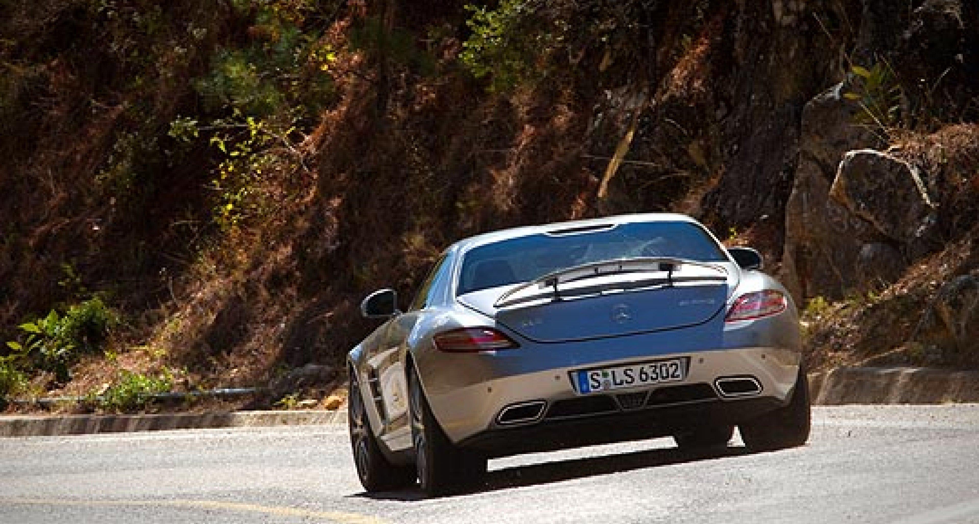 2011 Mercedes SLS AMG