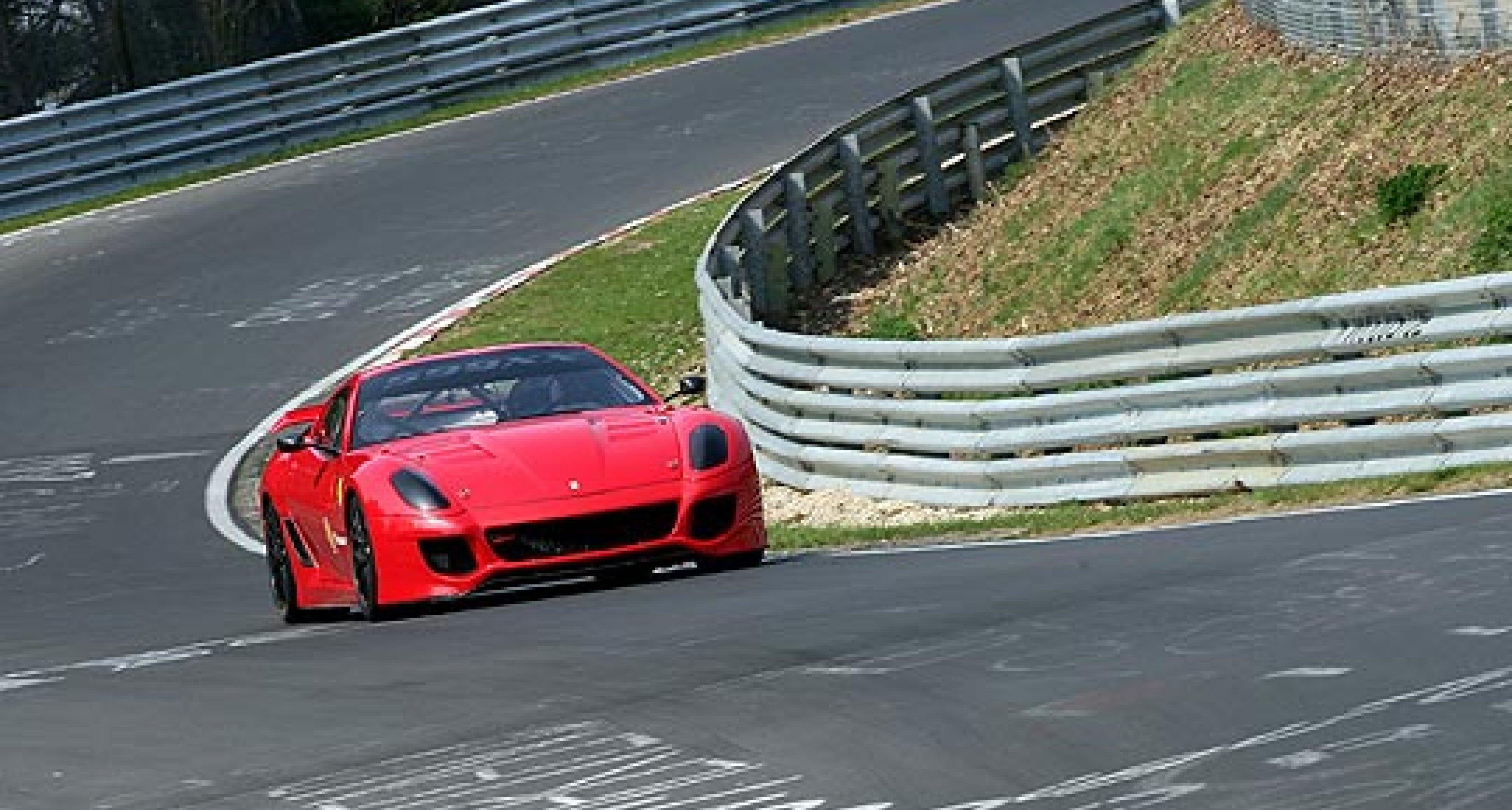 Ferrari 599XX Sets New Record at the 'Ring