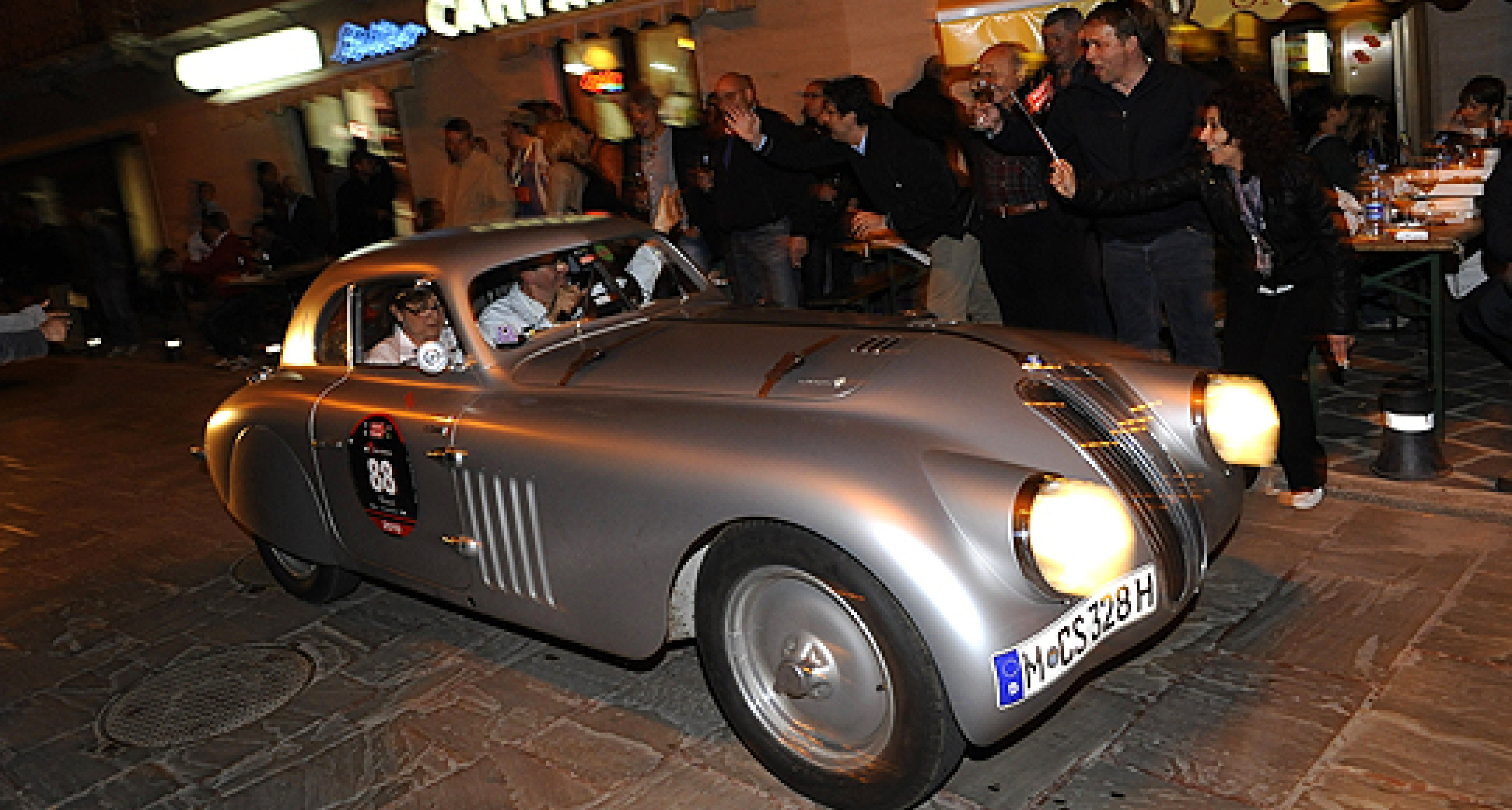Mille Miglia 2010: BMW Takes First – and Third