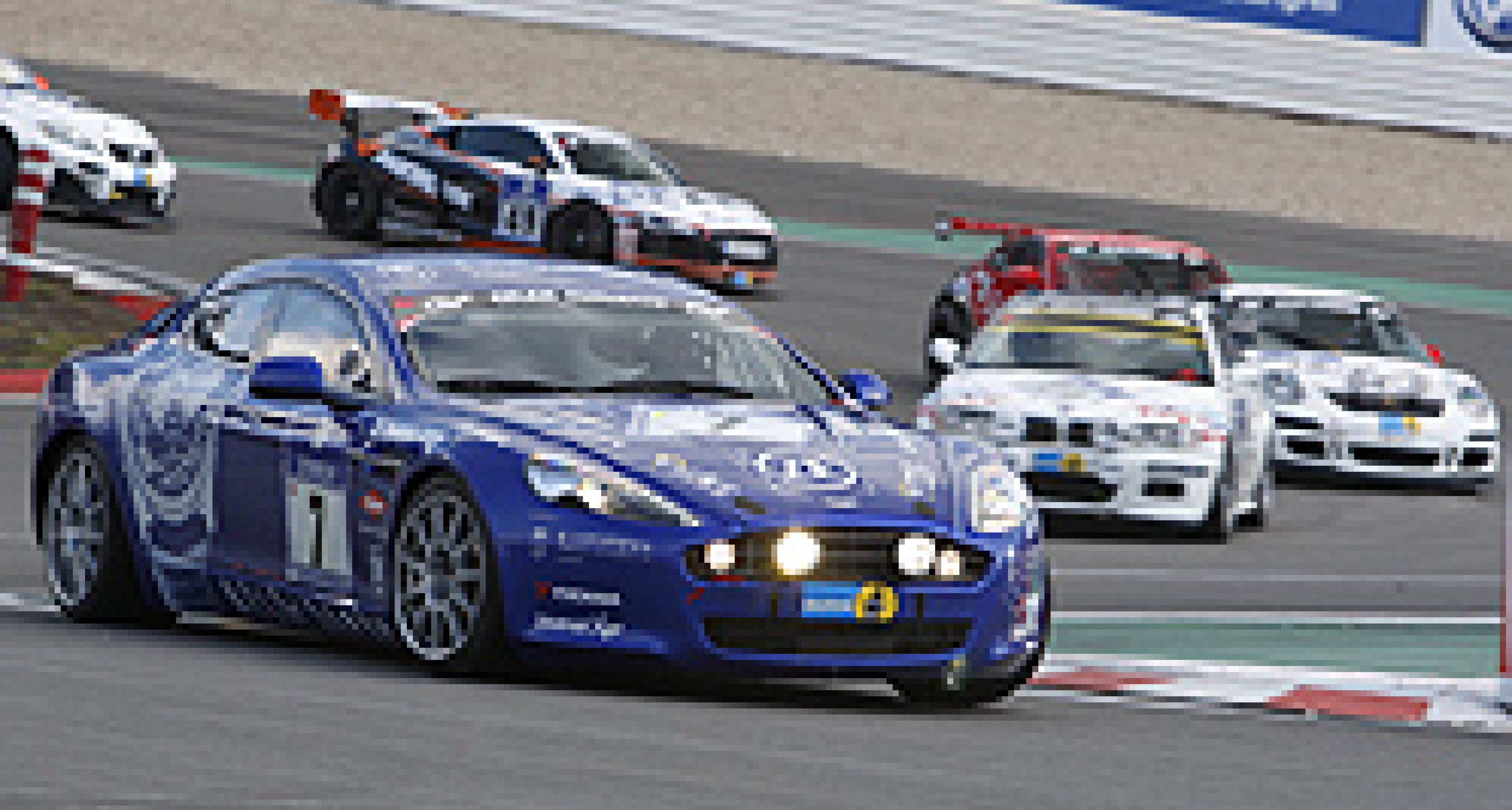 Aston Martin at the 'Ring 2010: New Rapide Second in Class