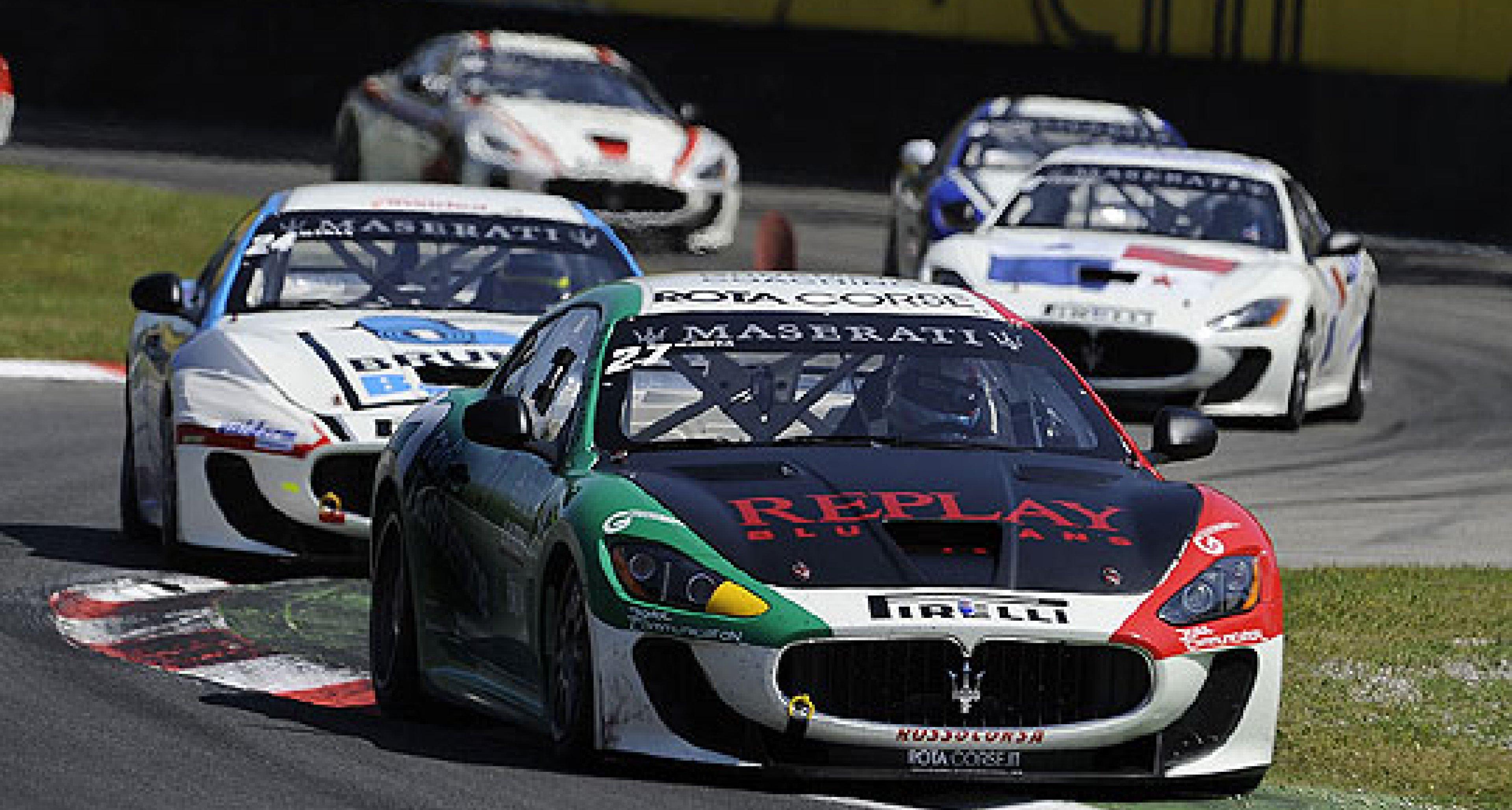 Trofeo Maserati 2010: Action at Monza