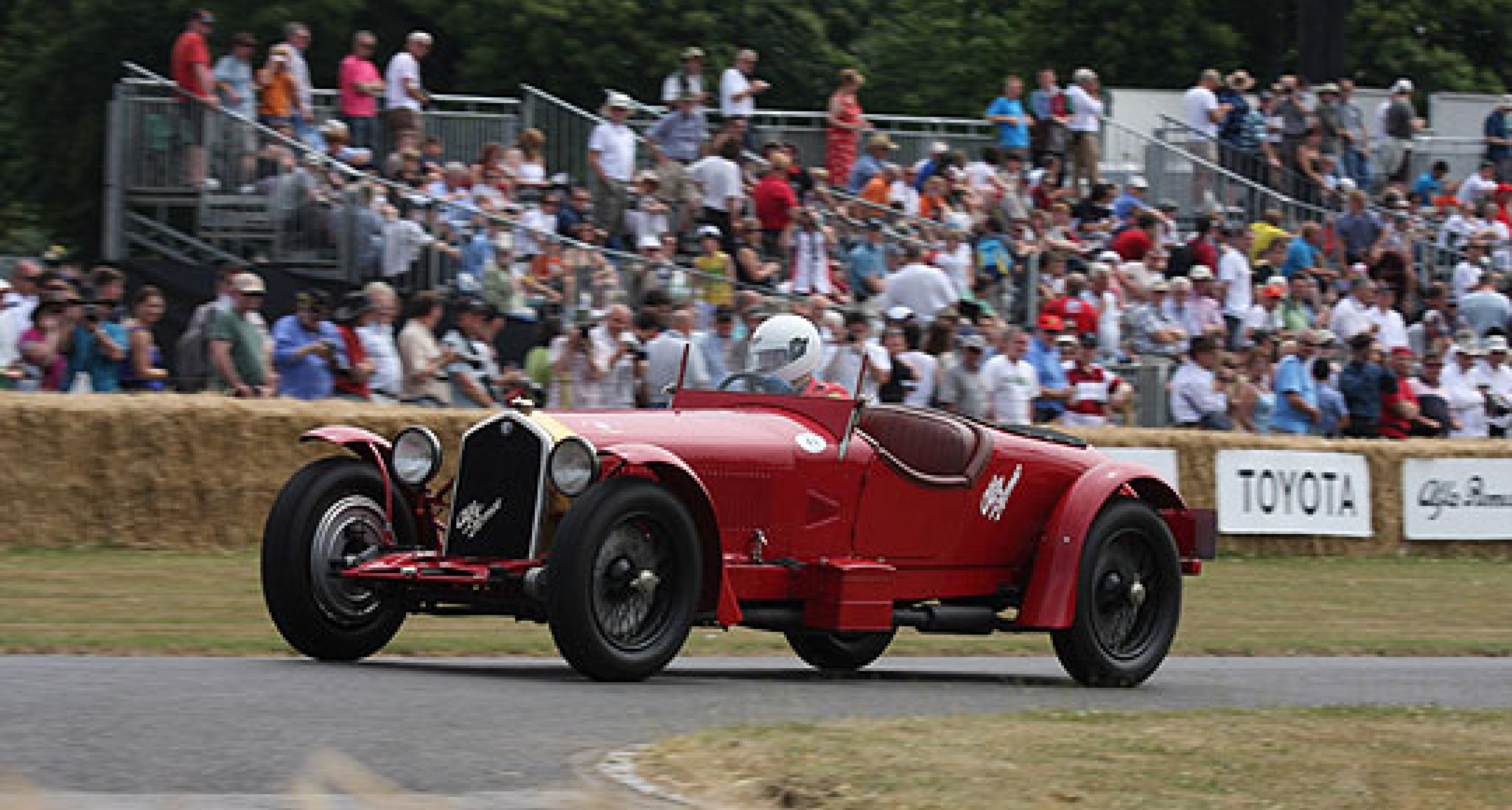 Ancient Alfas at Goodwood