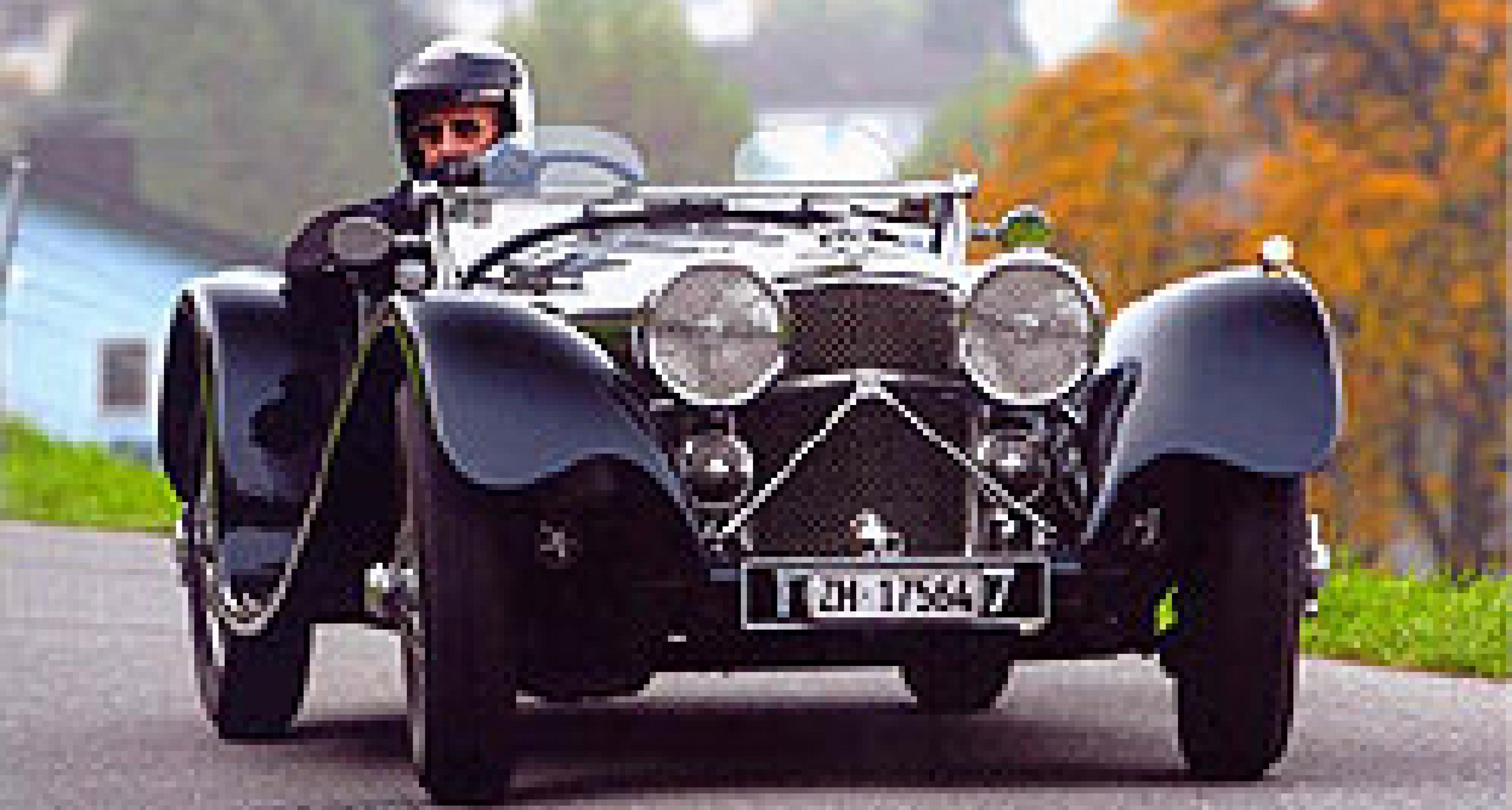 St Moritz: 17th British Classic Car Meeting 2010