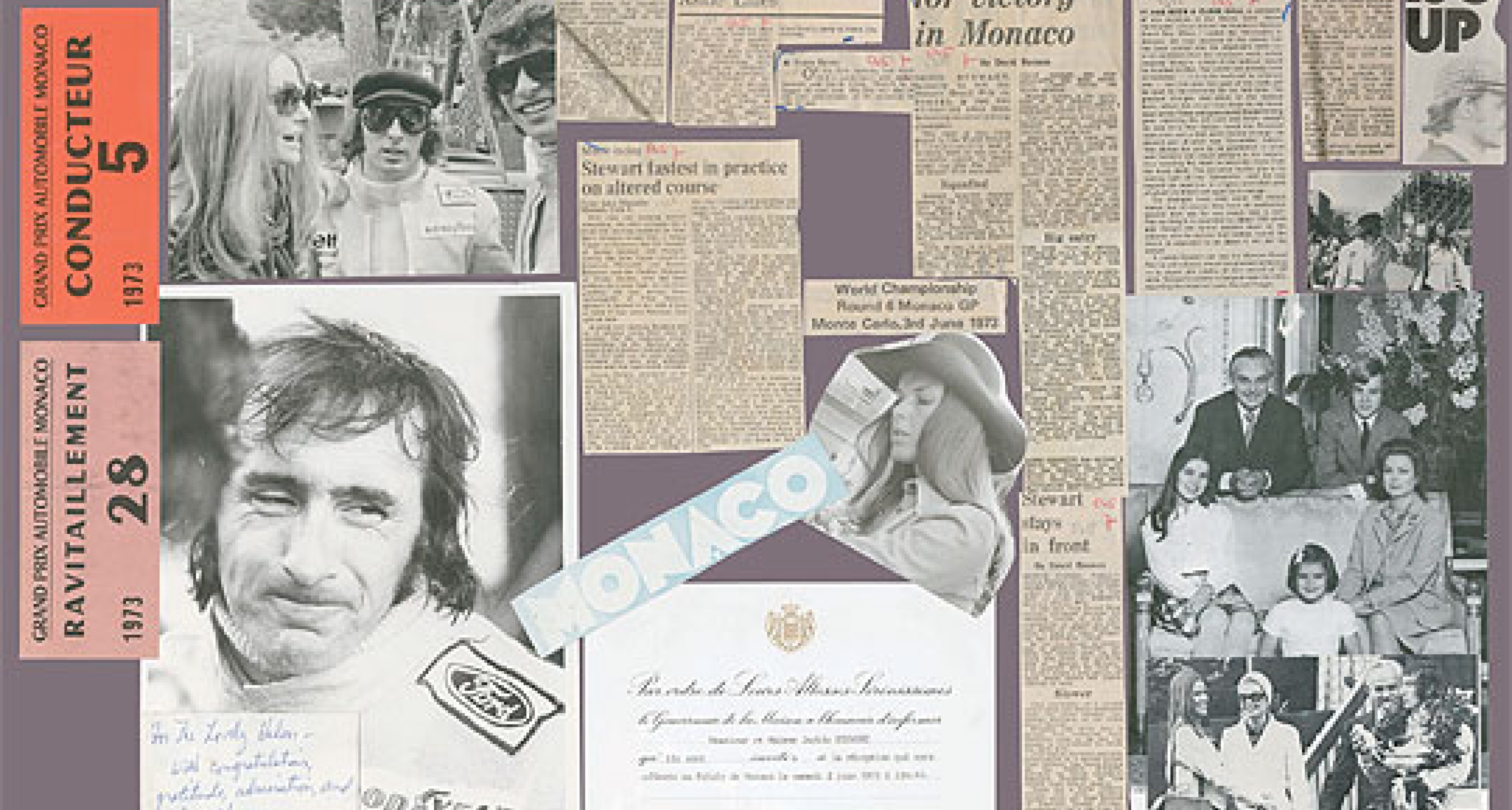 Sir Jackie Stewart: 'Collage', Family Life and the Mille Miglia