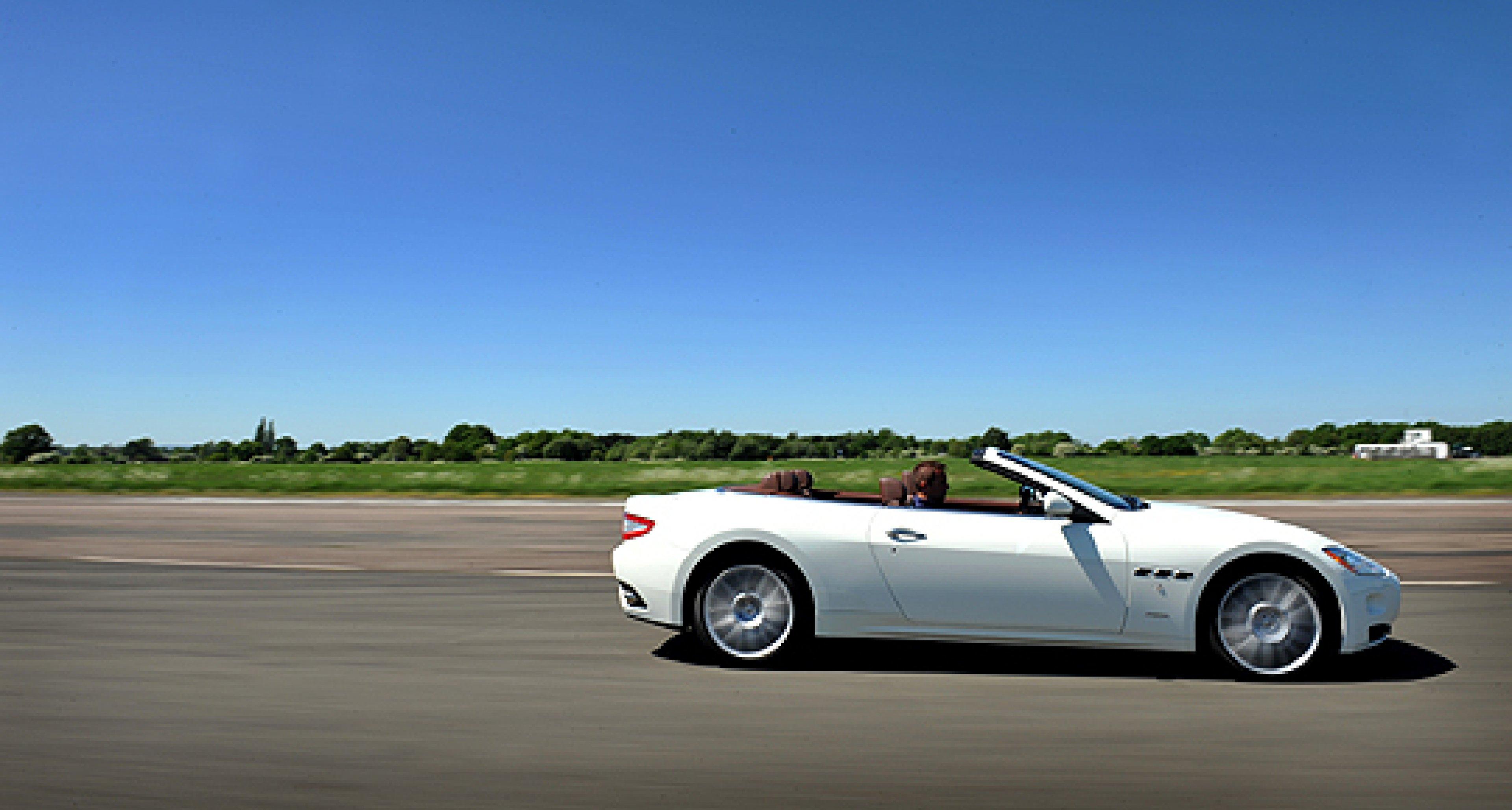 Maserati GranCabrio – a Breath of Fresh Air
