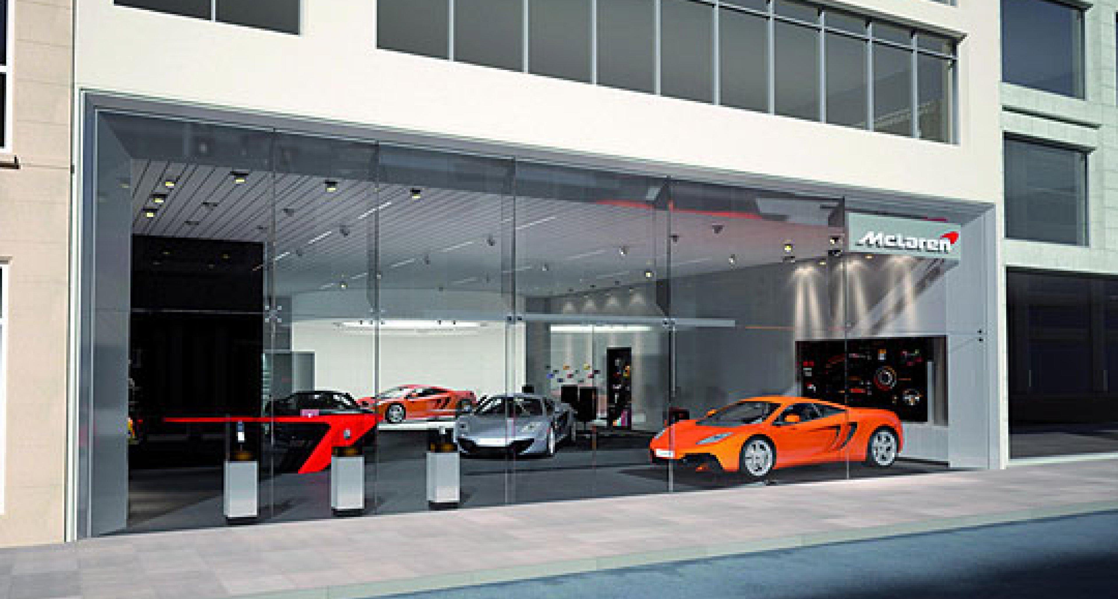 McLaren Announces European Dealers