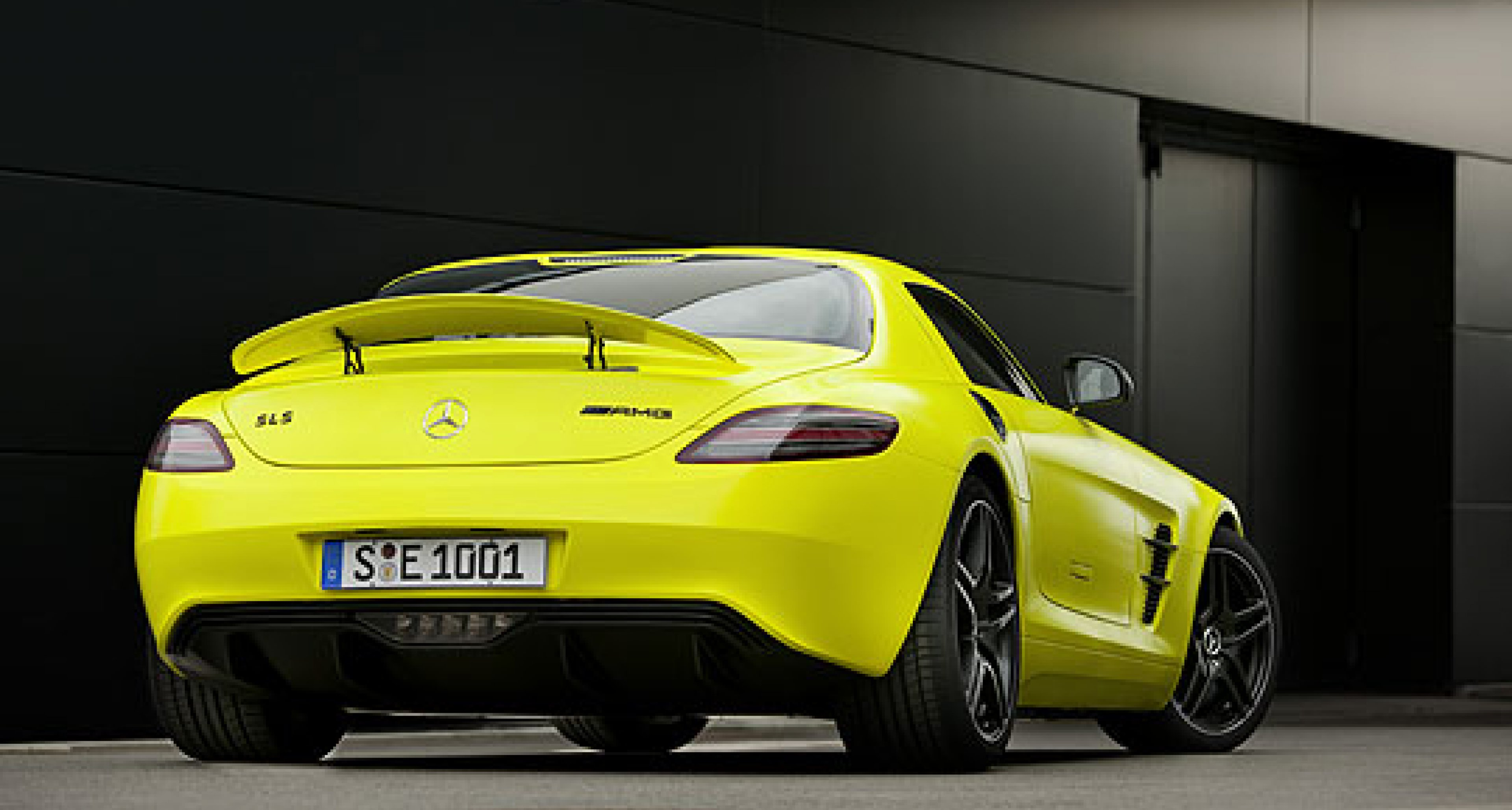 Mercedes SLS AMG E-Cell: Electric Gullwing