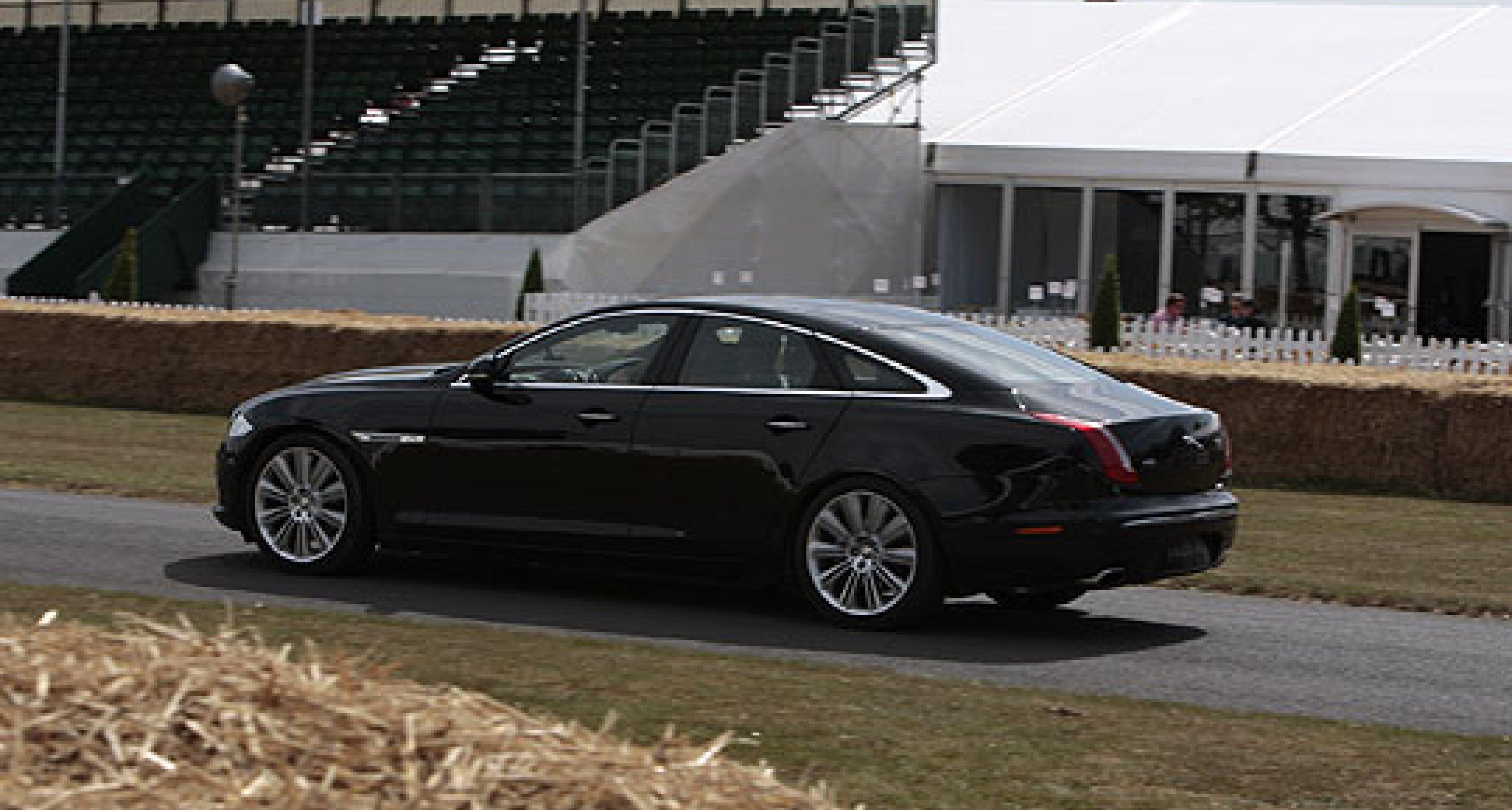 Jaguar XJ at Goodwood Moving Motor Show 2010