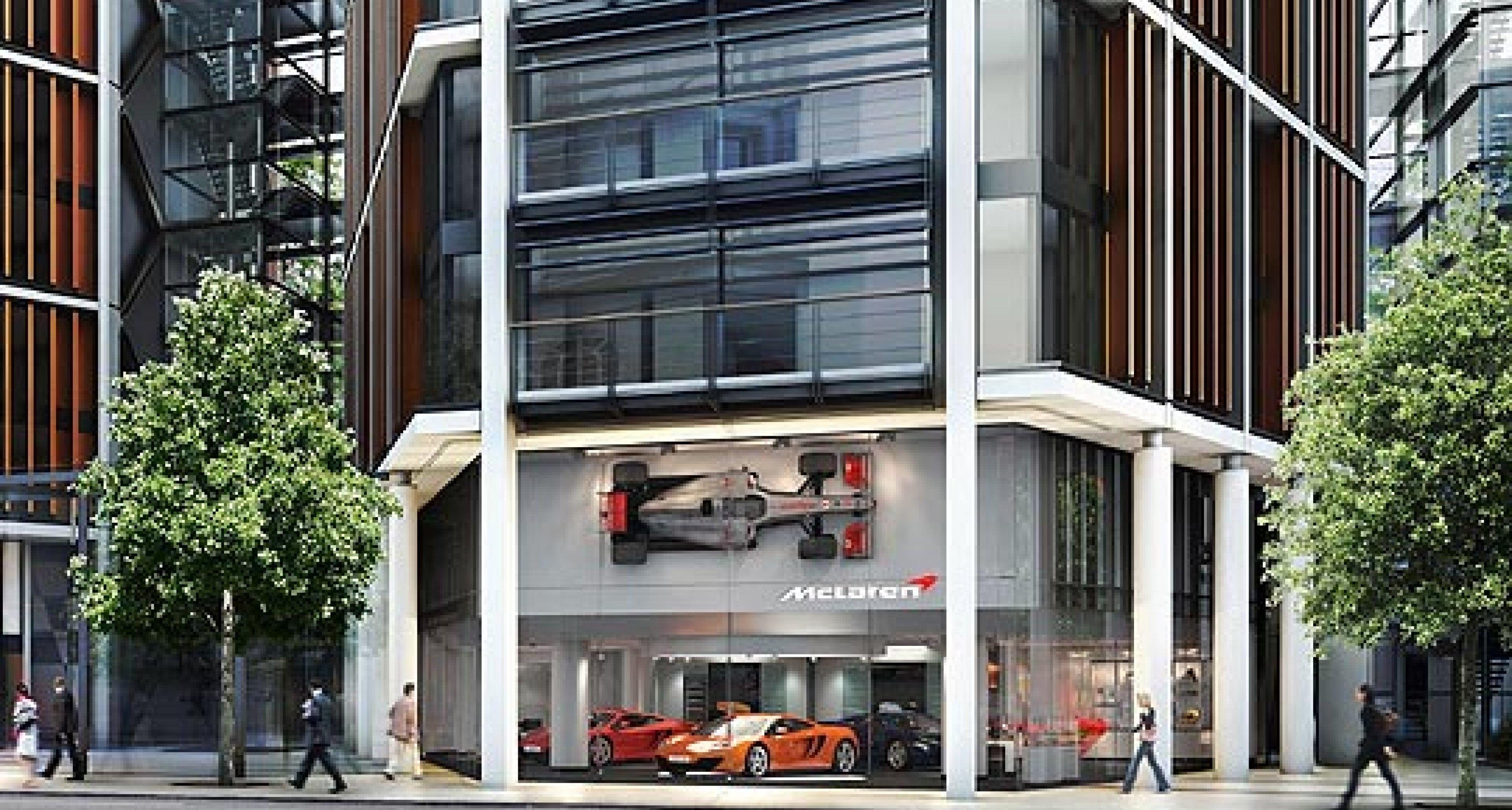 McLaren's New London Showroom: One Hyde Park