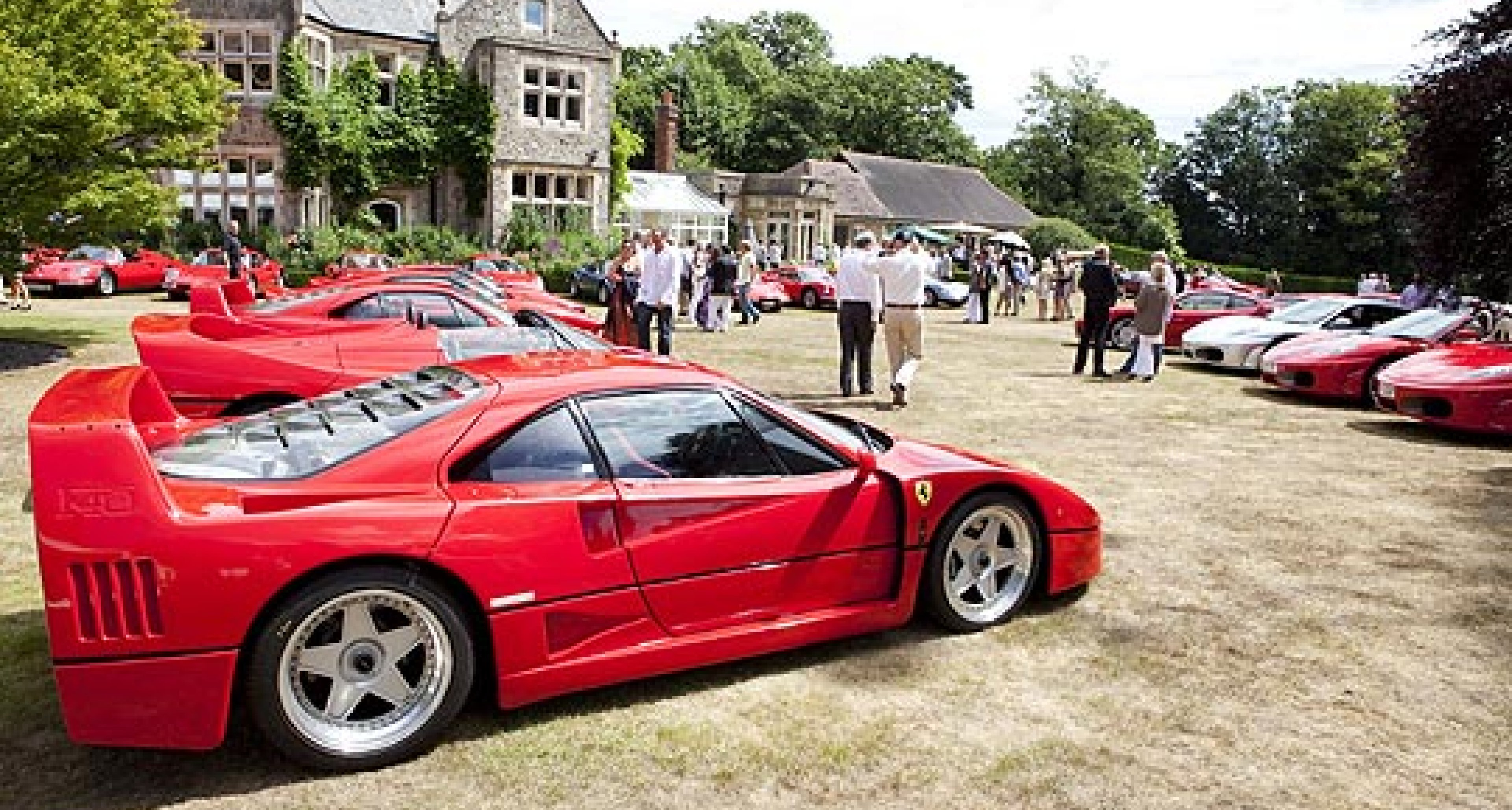 Foskers Concours and Garden Party at Ightham Warren