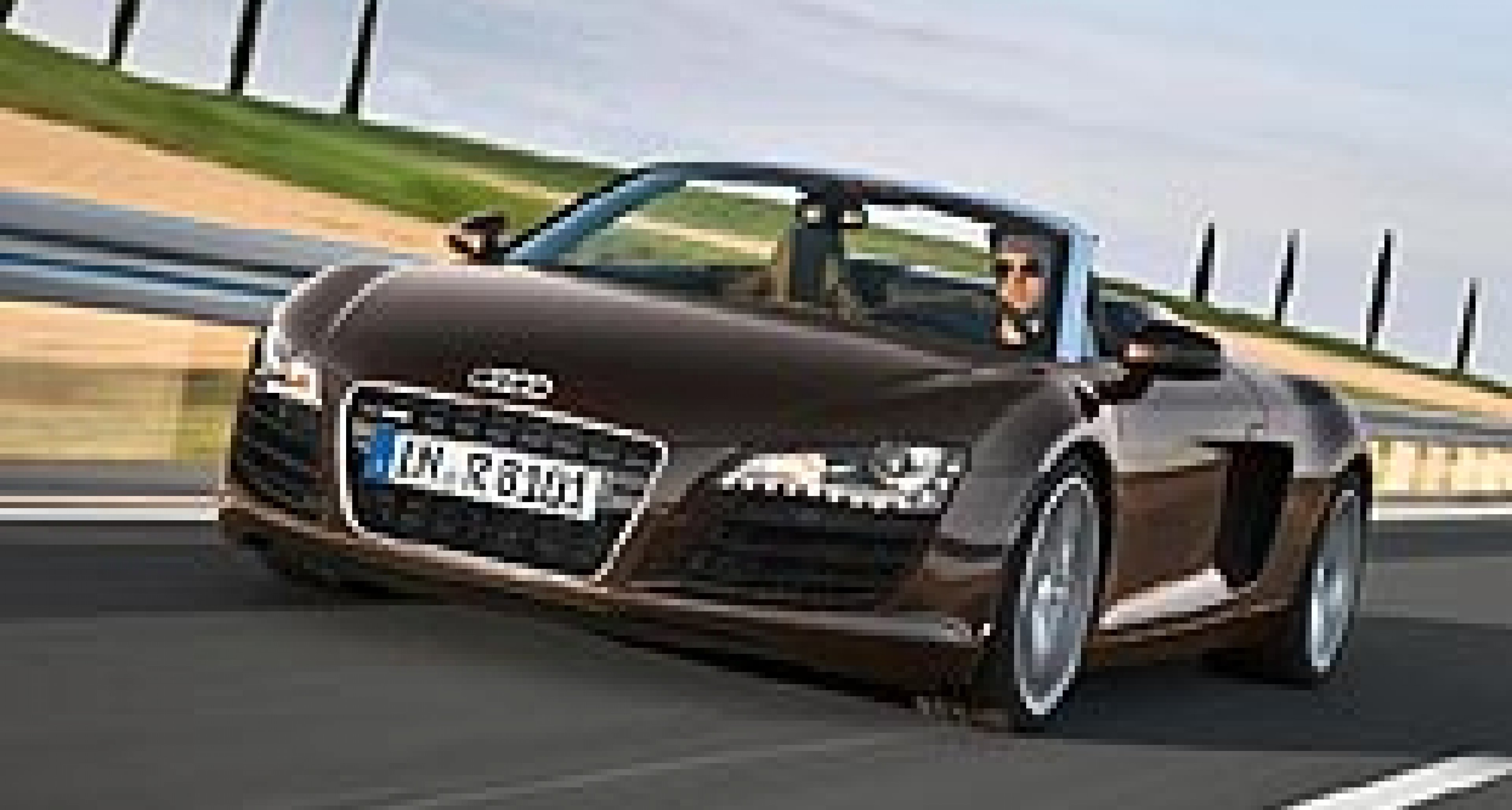 Audi R8 Spyder – Now With V8 Engine
