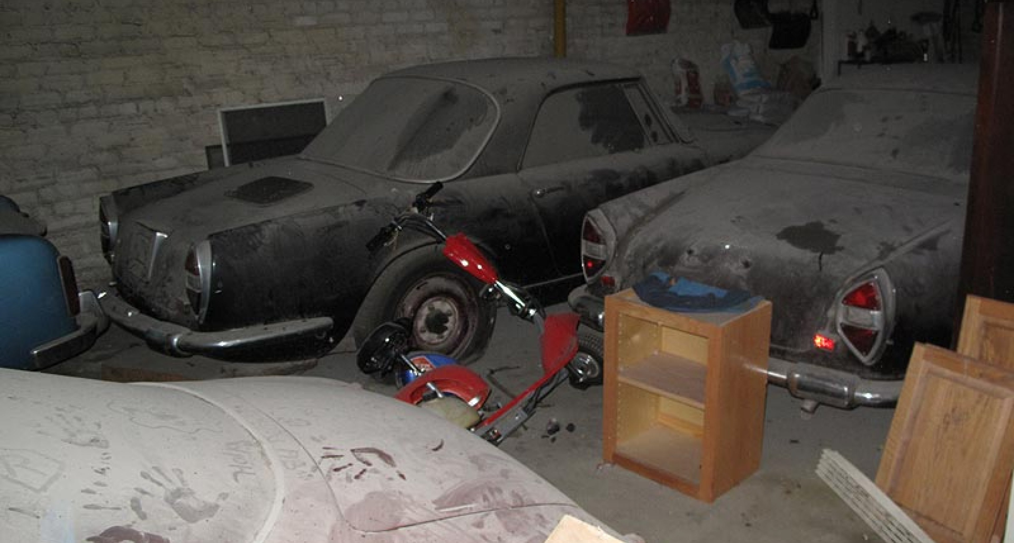 Discovered: Secret Italian 'Barn Finds' in the USA