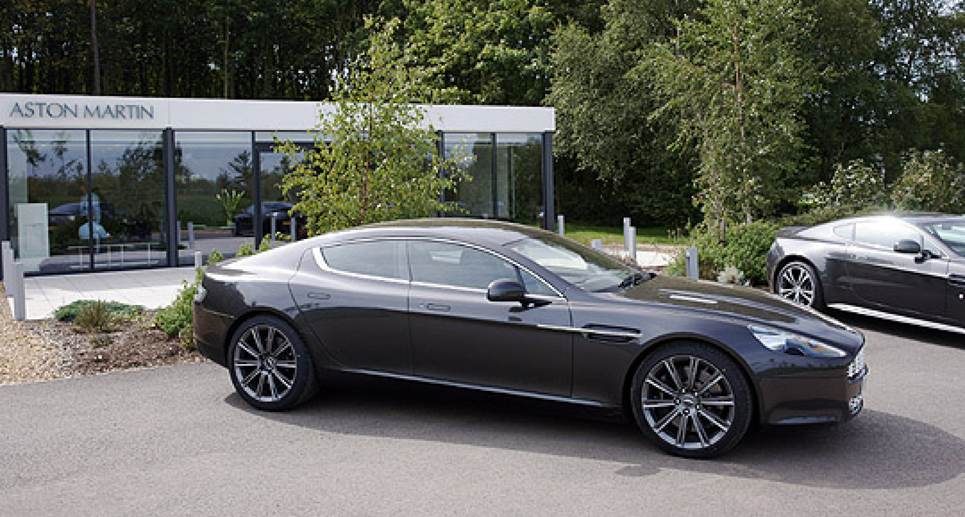 Aston Martins at Millbrook - Includes Video