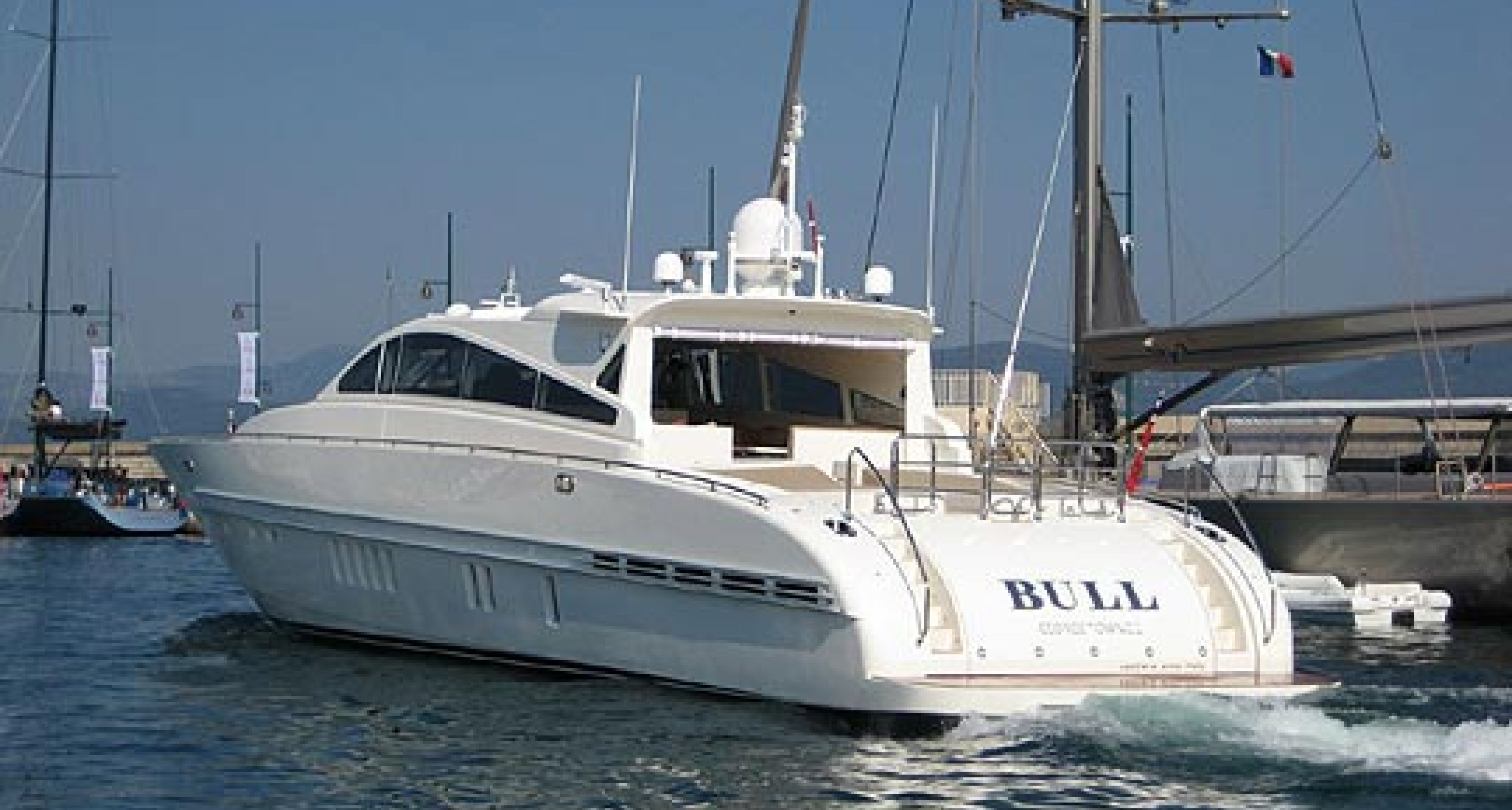 Bernie Madoff's Yacht - 'Bull' - To Be Sold