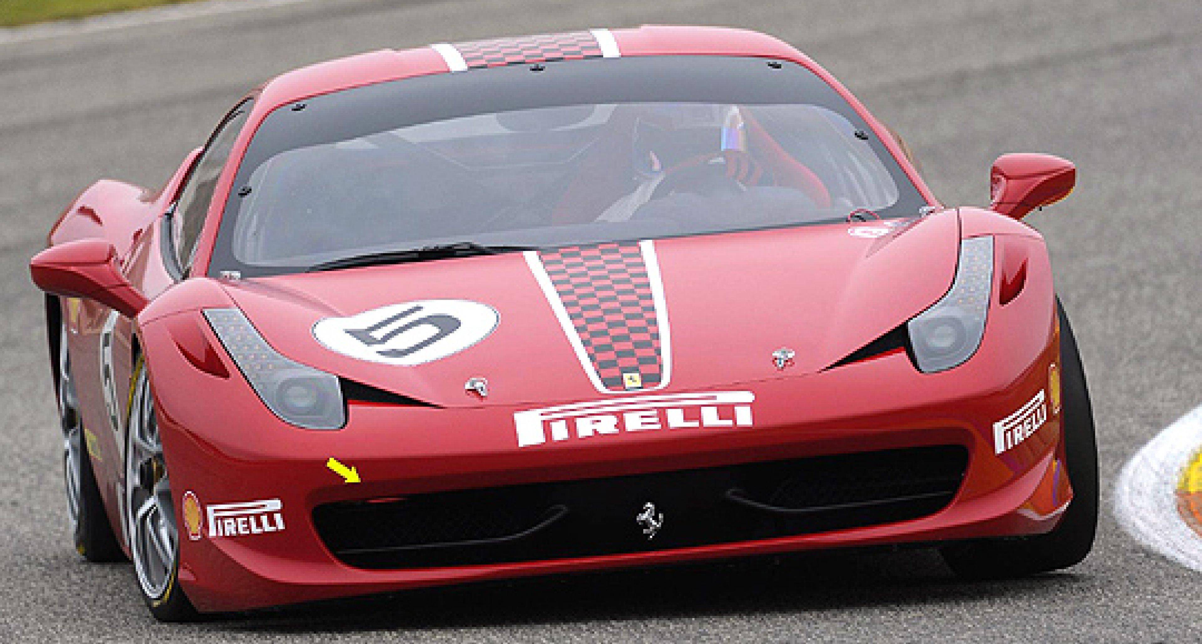 Ferrari 458 Challenge Revealed at Bologna