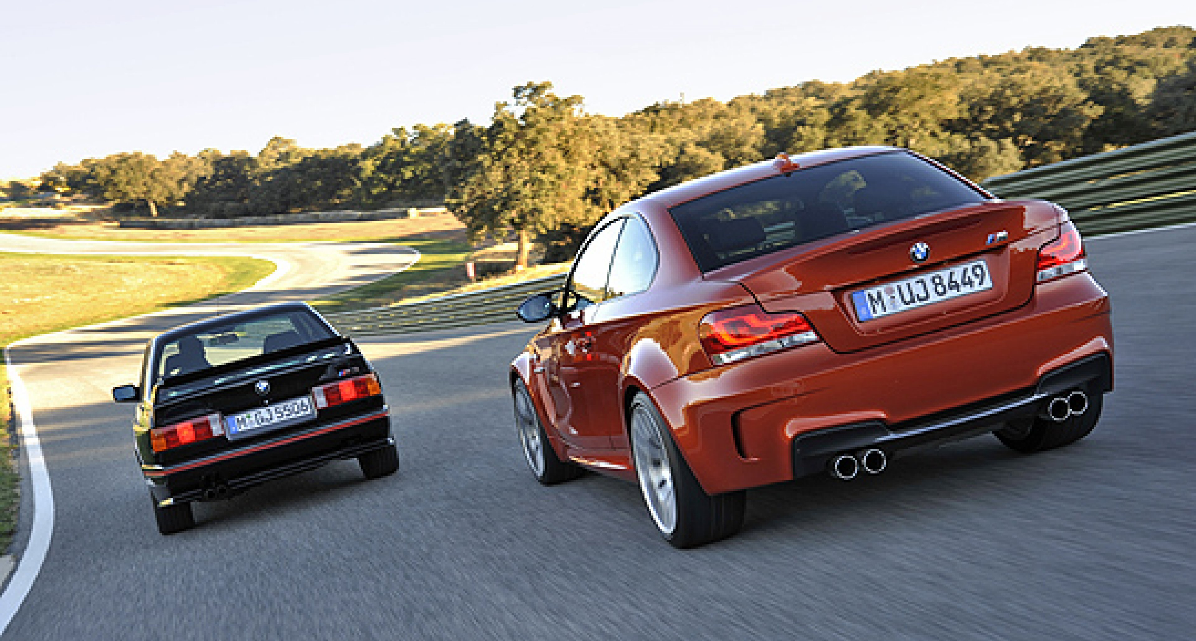 BMW 1 Series M Coupé Unveiled in London