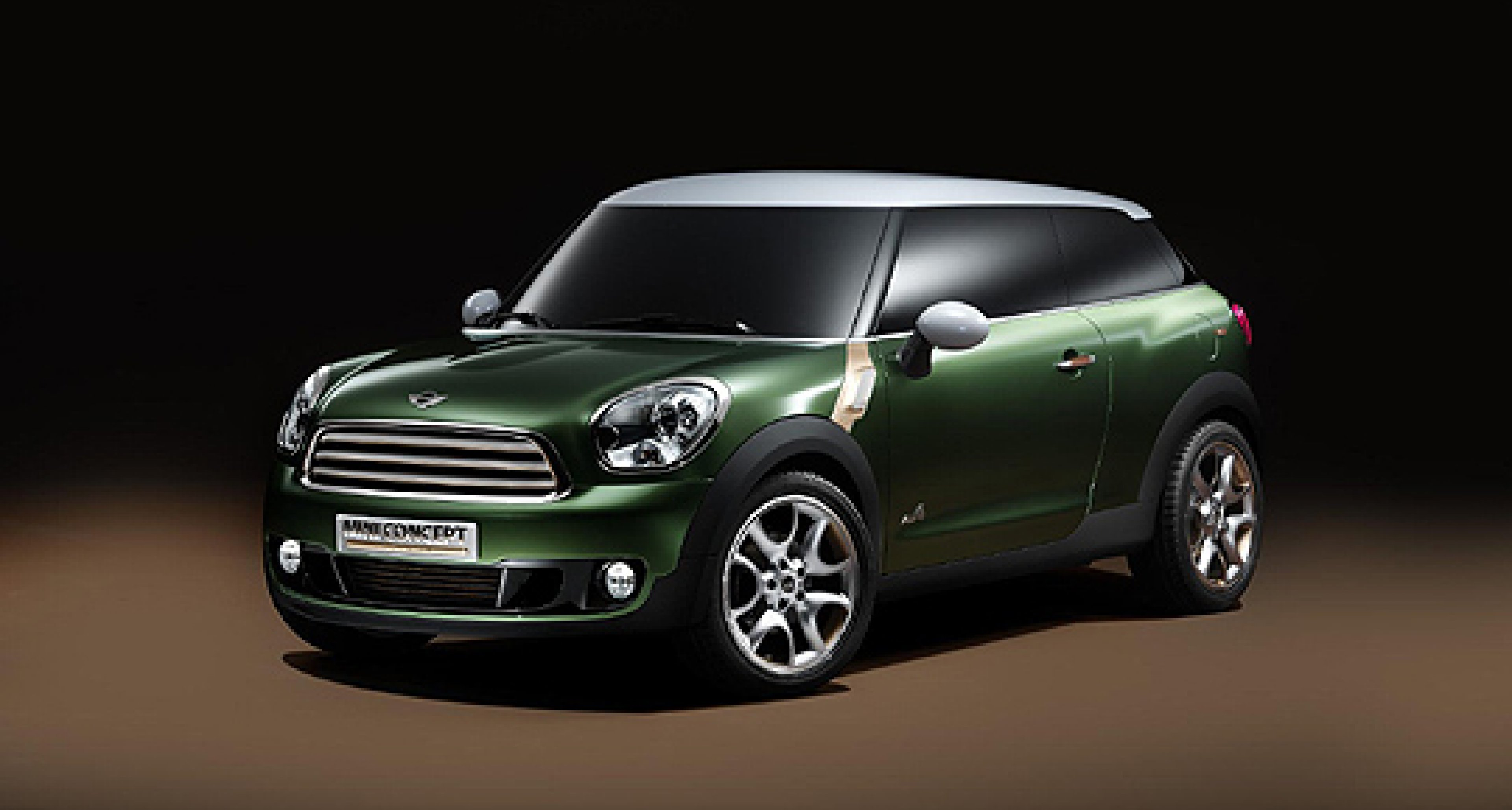 MINI Paceman to be Launched at Detroit