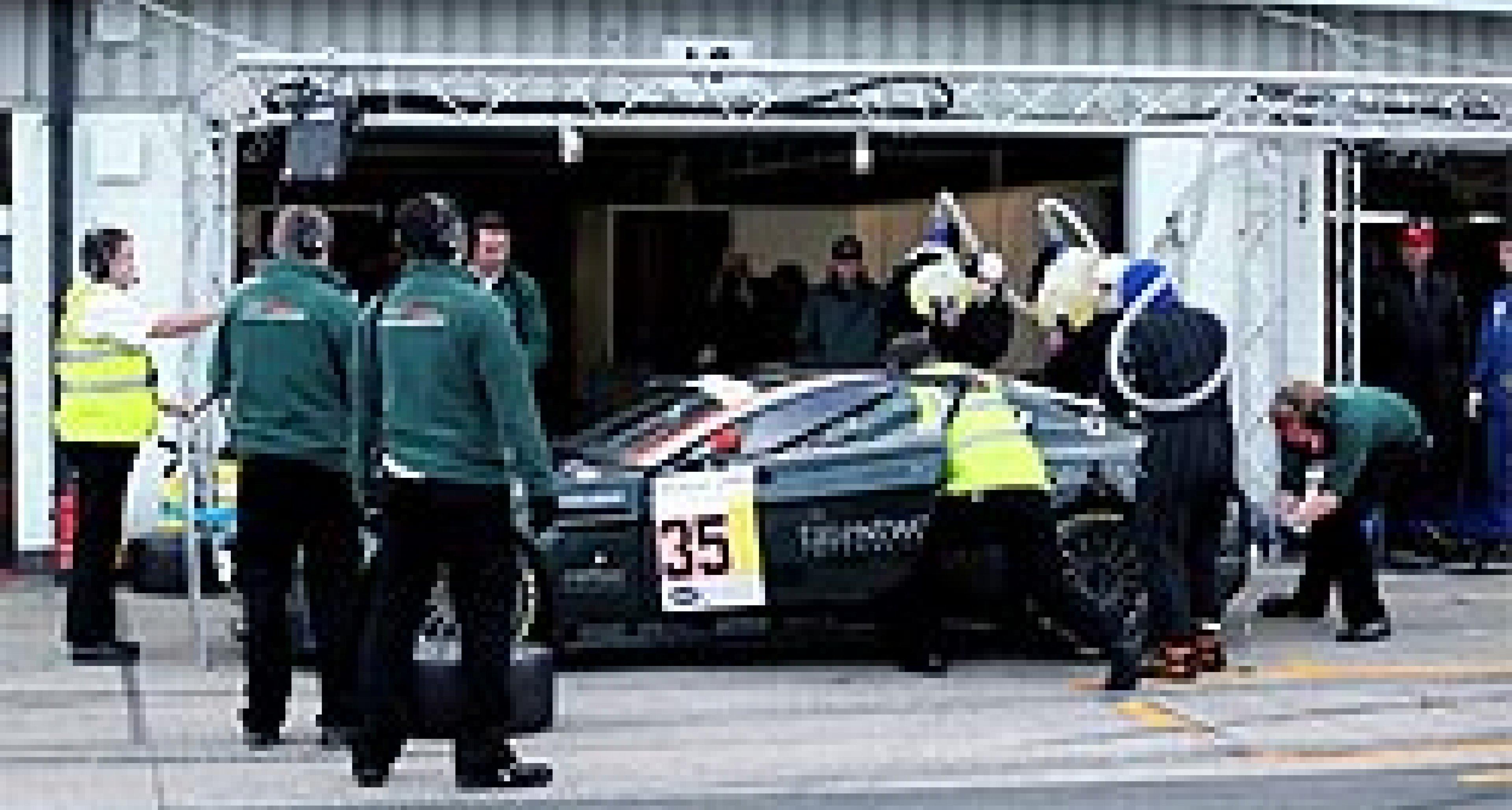 Video: Aston Martin von Nicholas Mee beim 24h-Rennen in Silverstone