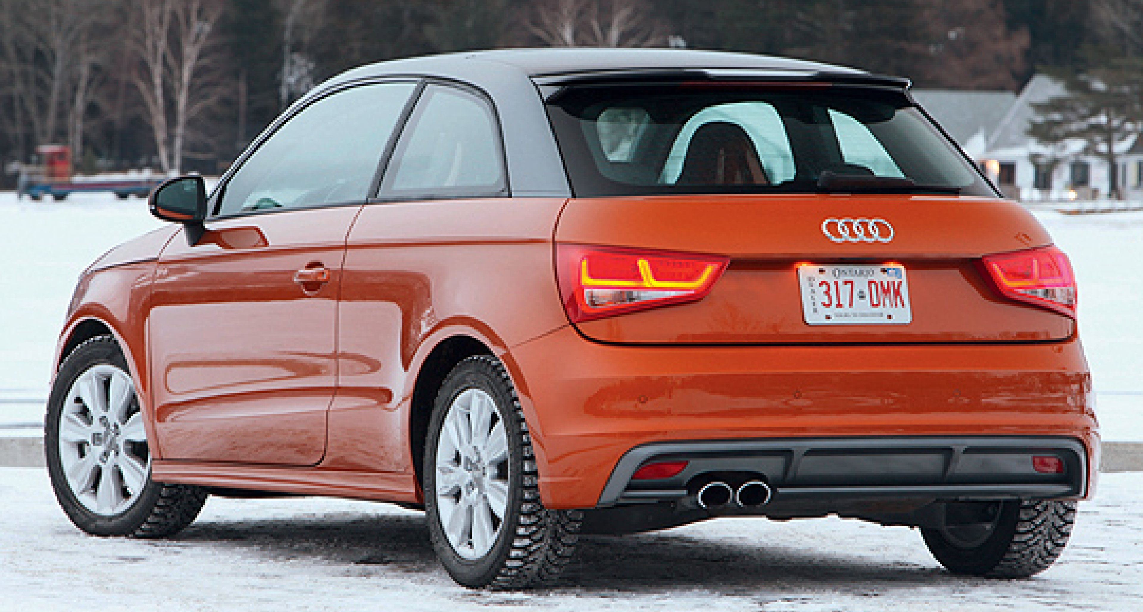 Audi Shows  A1 quattro 'Development' Car in Montreal