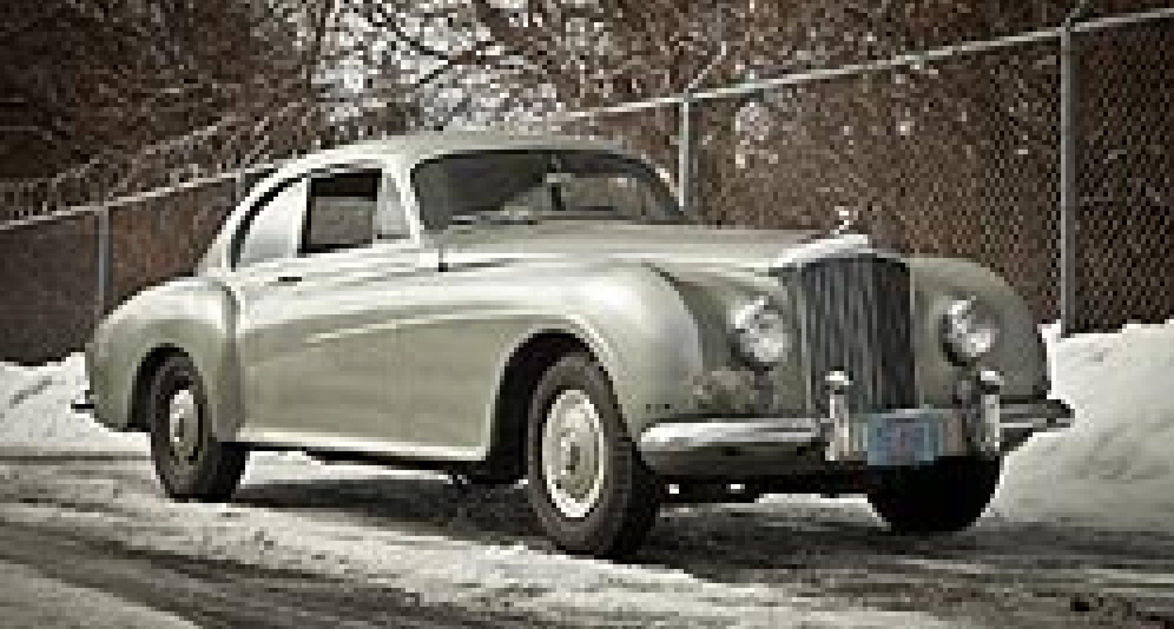 Gooding versteigert außergewöhnlichen Bentley R-Type Continental