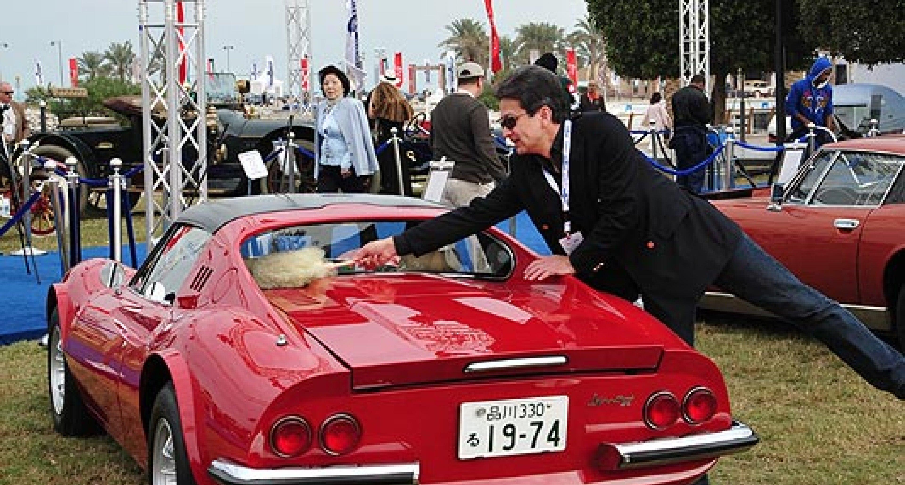 Kuwait Concours d'Elegance, 2-6 February 2011