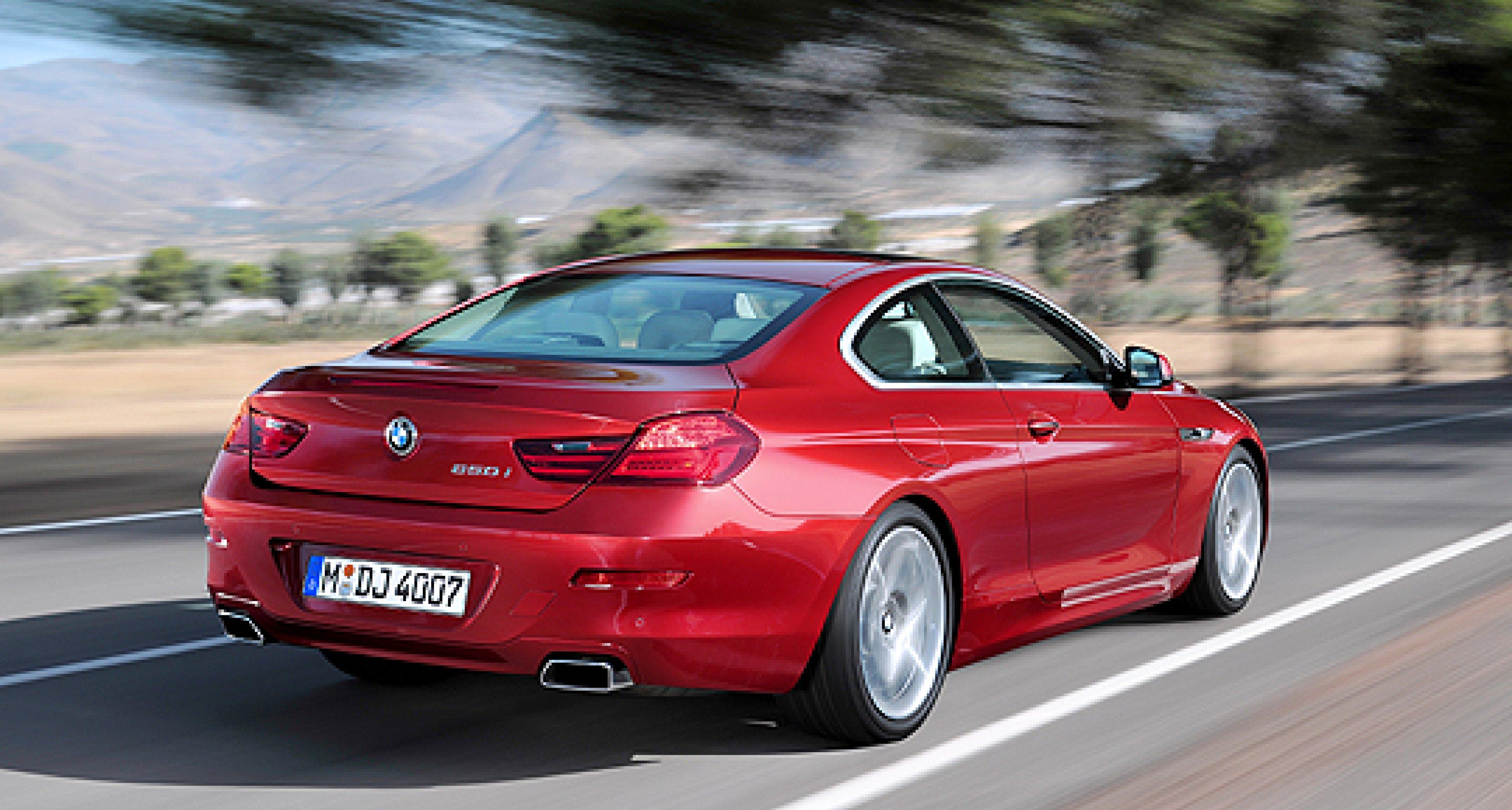 New BMW 6 Series Coupé