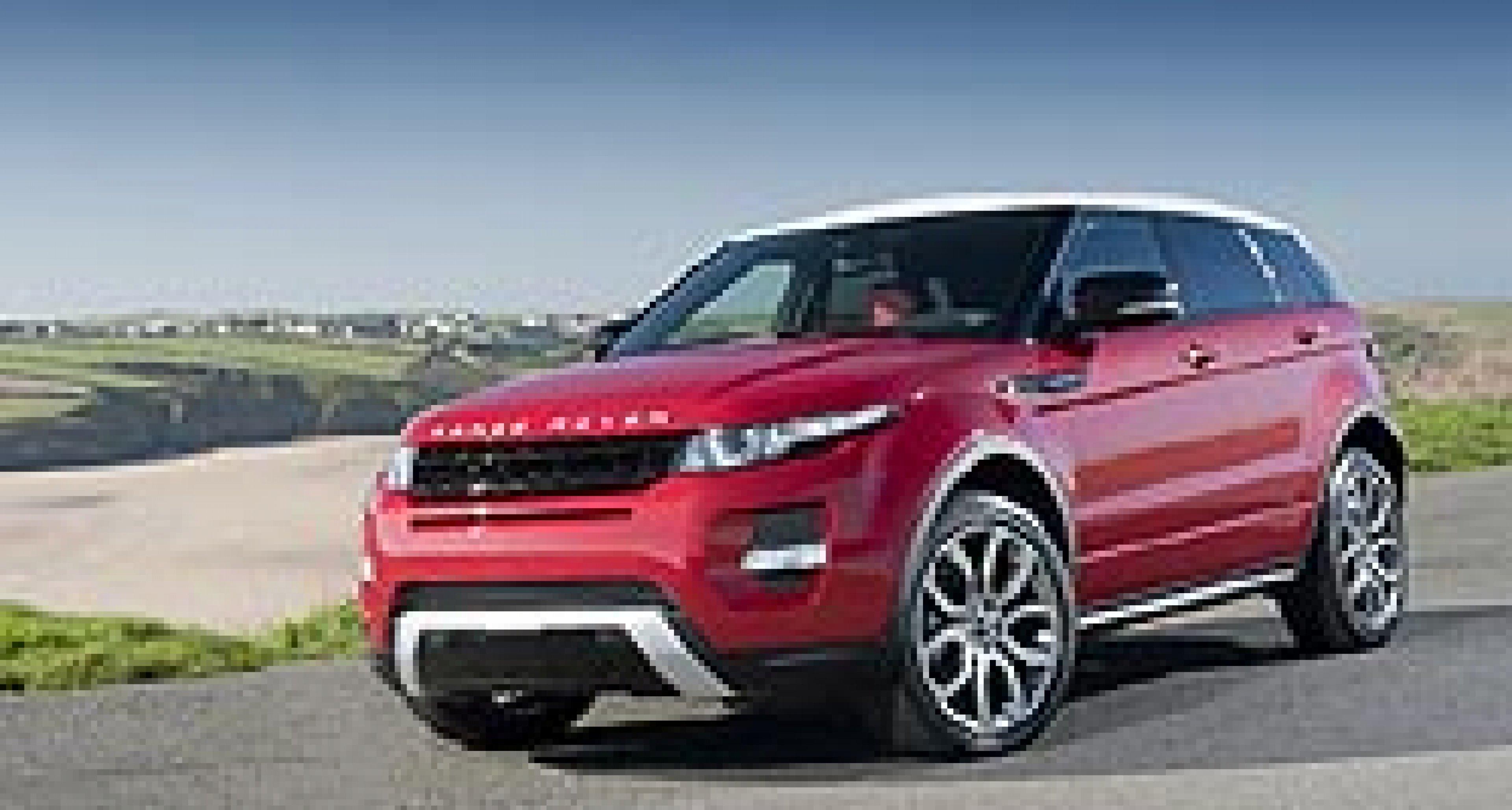Range Rover Evoque: UK Pricing Announced