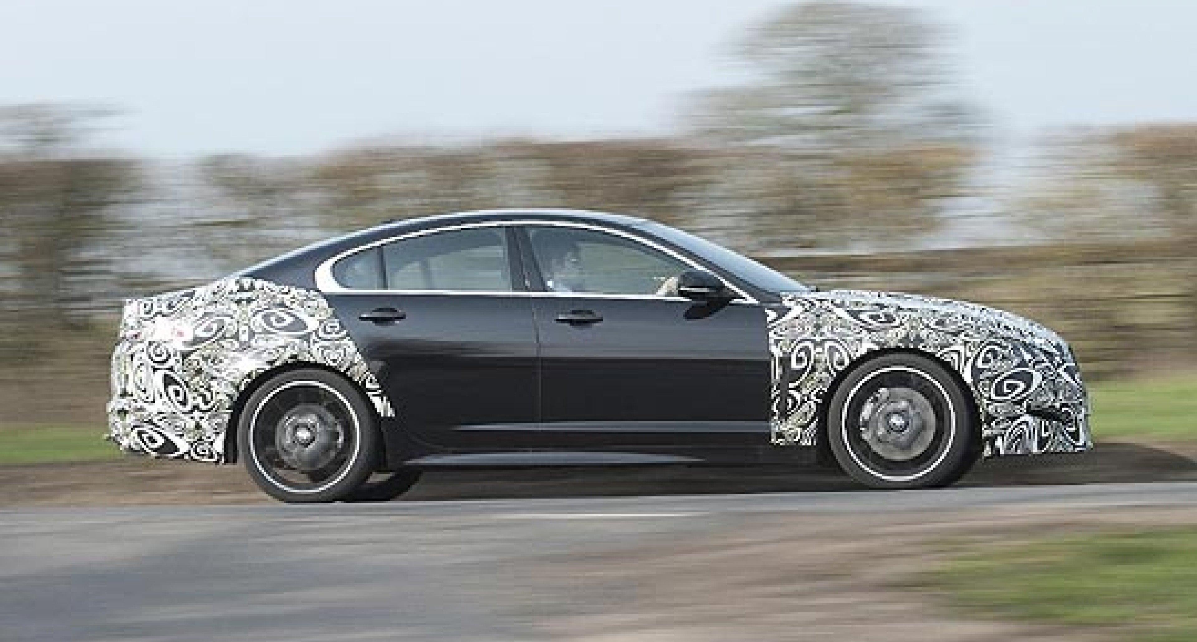 Jaguar XF 2.2-Litre Diesel to Offer 52.3mpg and 140mph