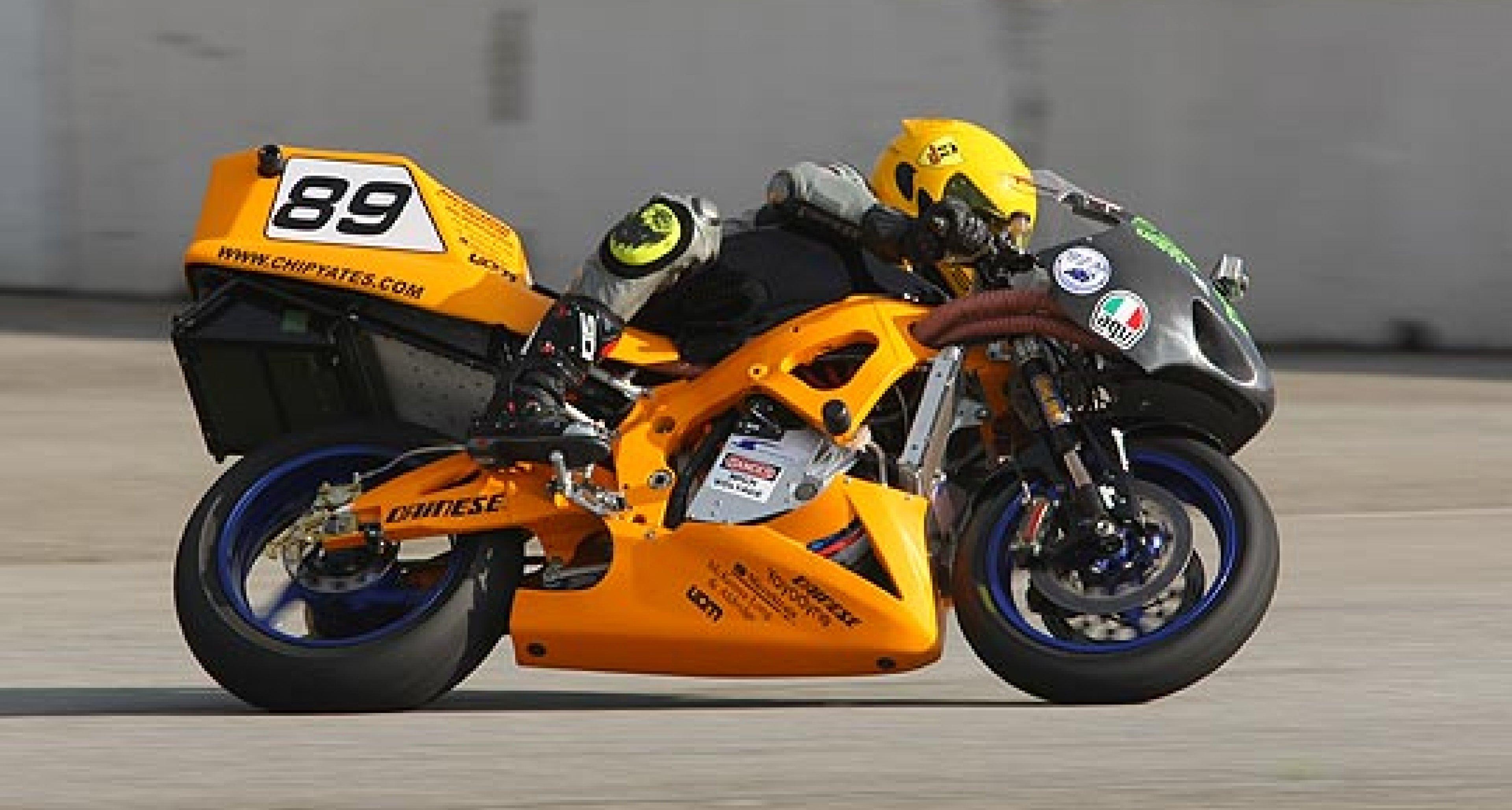 240bhp Electric Superbike Hits 190.6mph