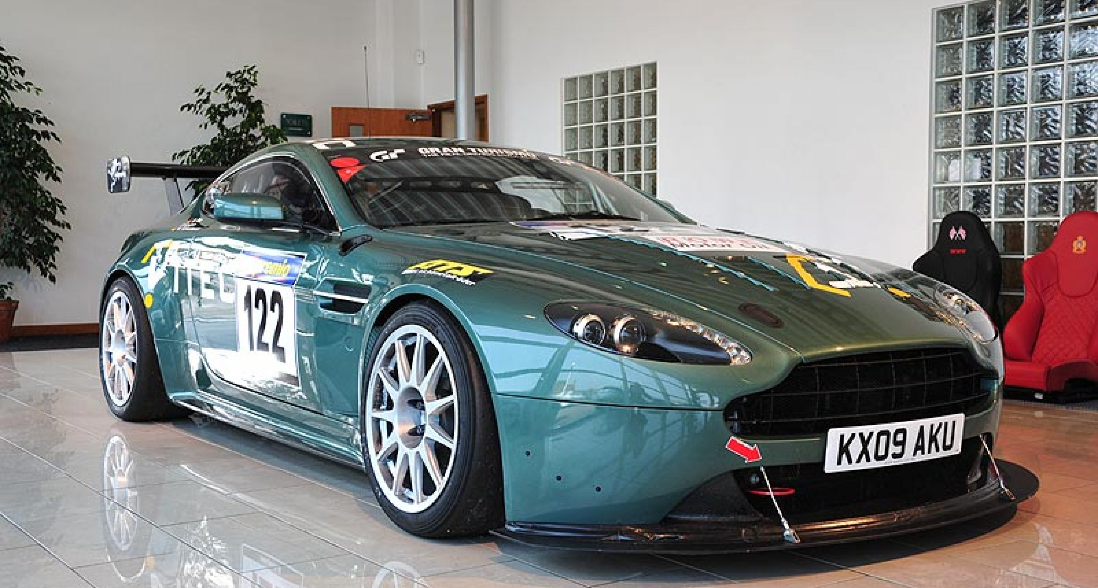 2011 Aston Martin V12 Vantage Day at Works Service, Newport Pagnell