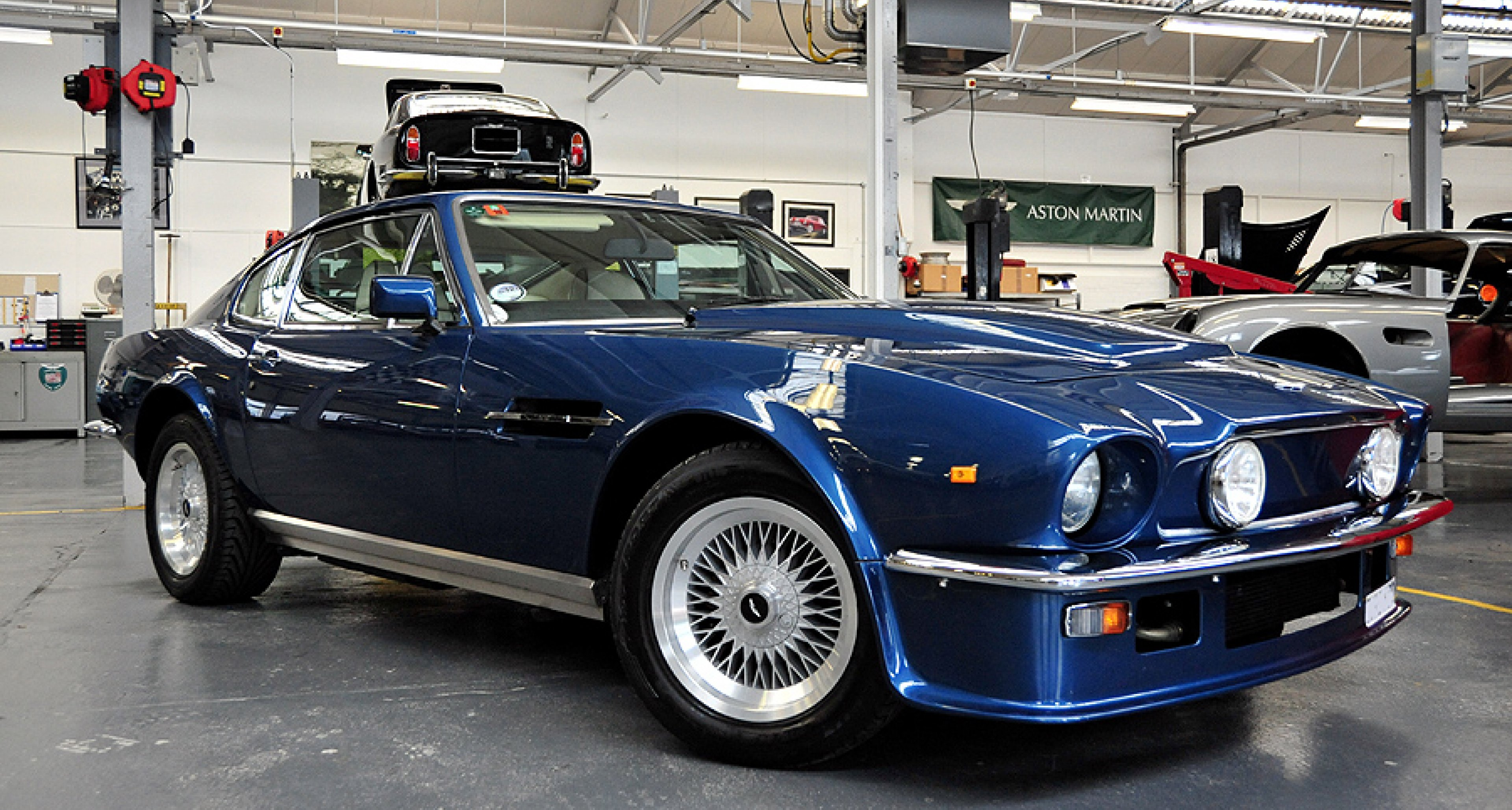 Aston Martin Works Service: V8 Vantage and Saloon, Steering and Brake Upgrades