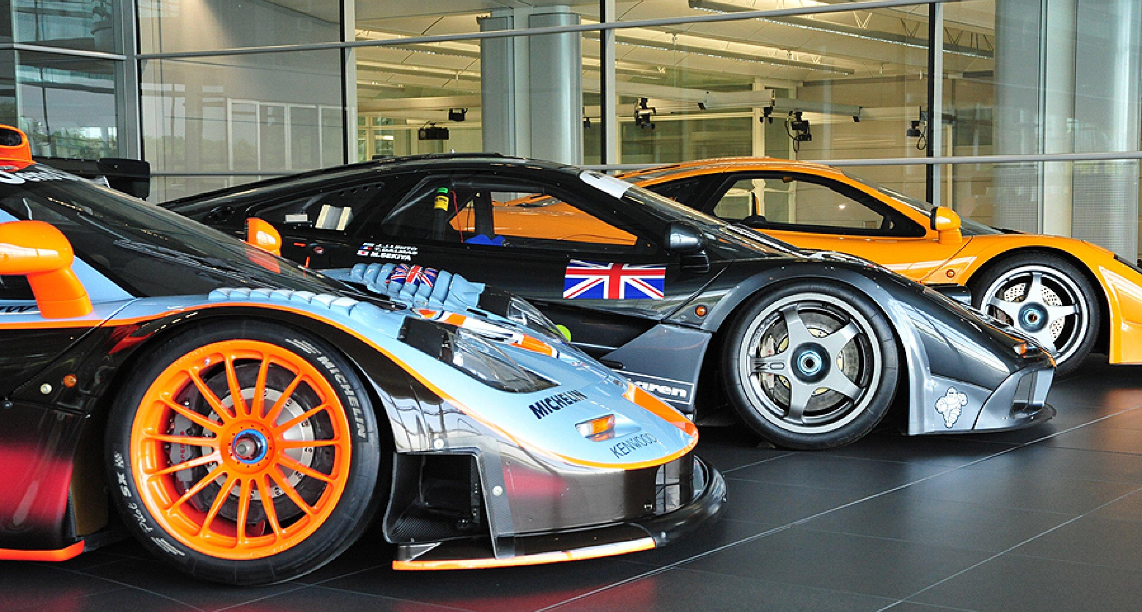 McLaren MP4-12C: GT3 Car Unveiled