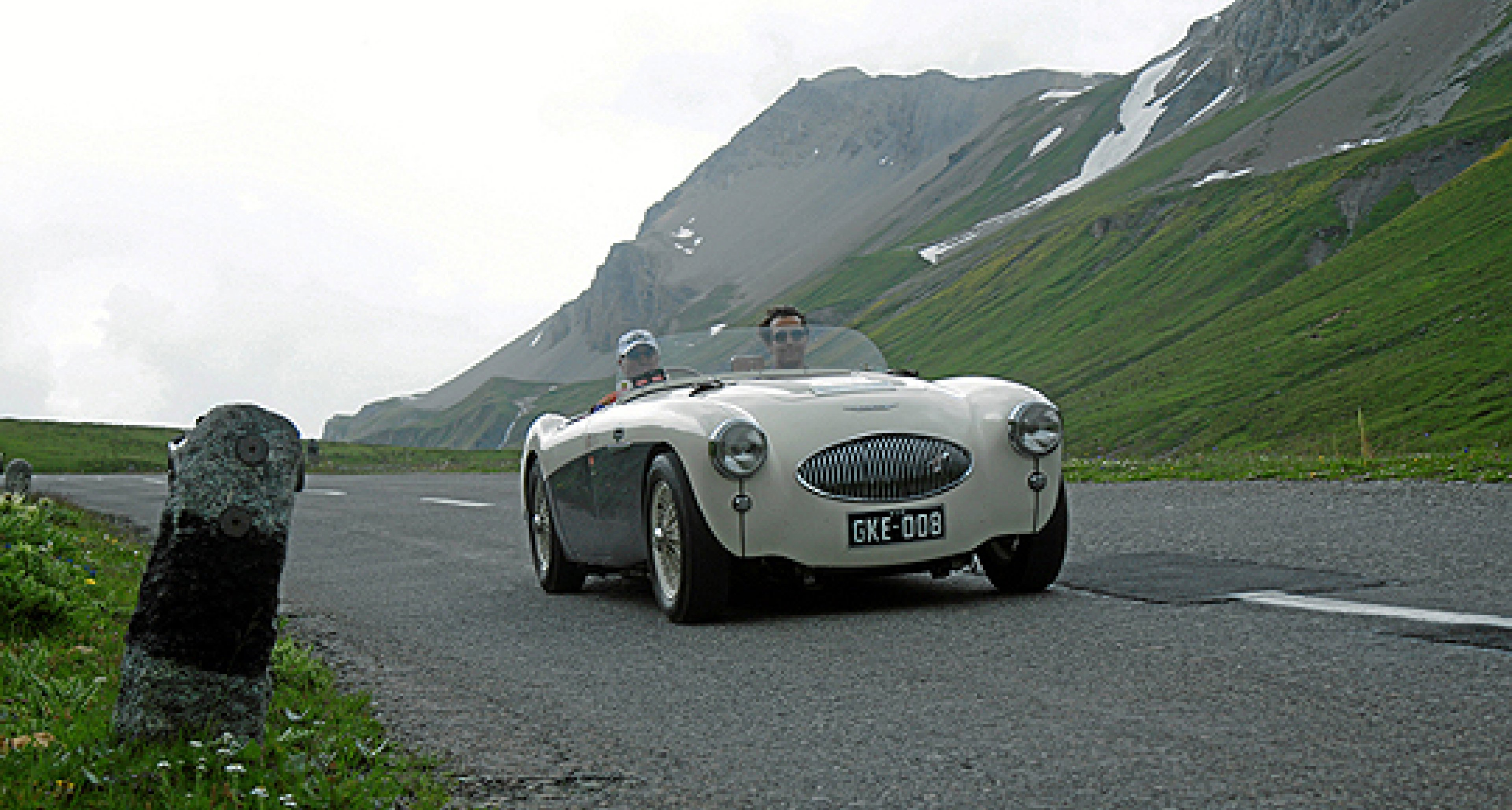 British Classic Car Meeting, St. Moritz – Austin-Healey 100S and E-types to Star
