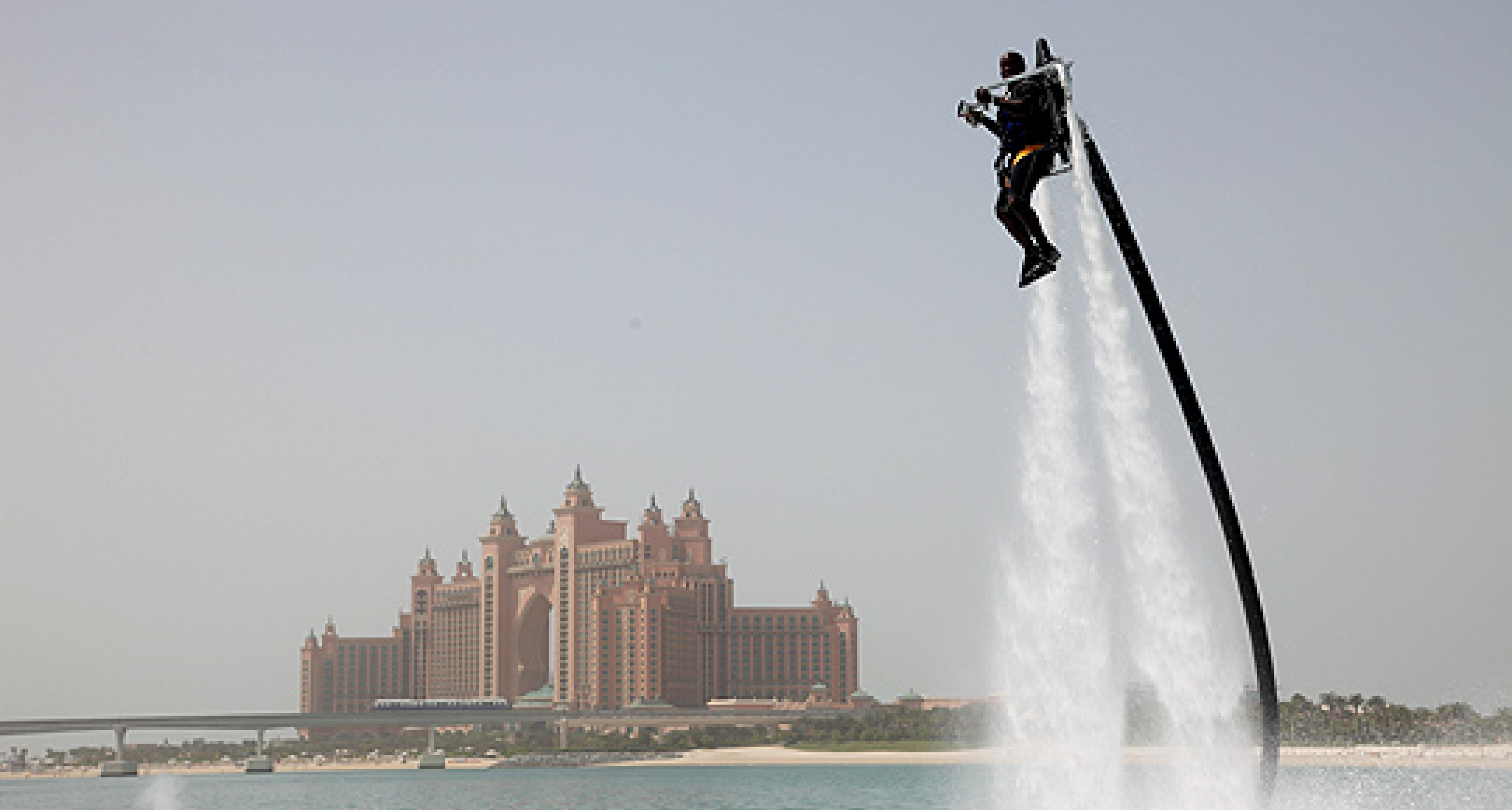 Rocket man: JetLev Flyer takes to the air